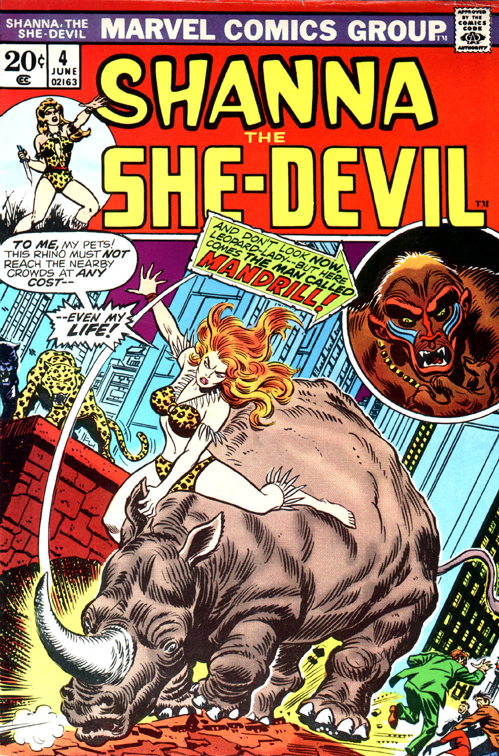 Read online Shanna, the She-Devil (1972) comic -  Issue #4 - 1