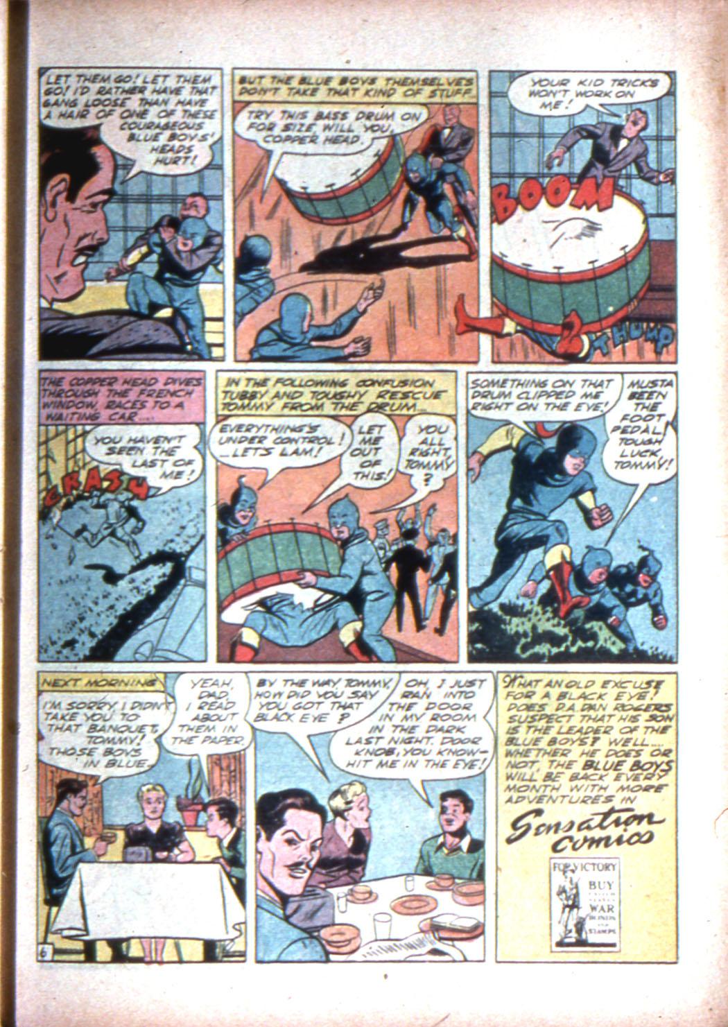 Read online Sensation (Mystery) Comics comic -  Issue #15 - 55