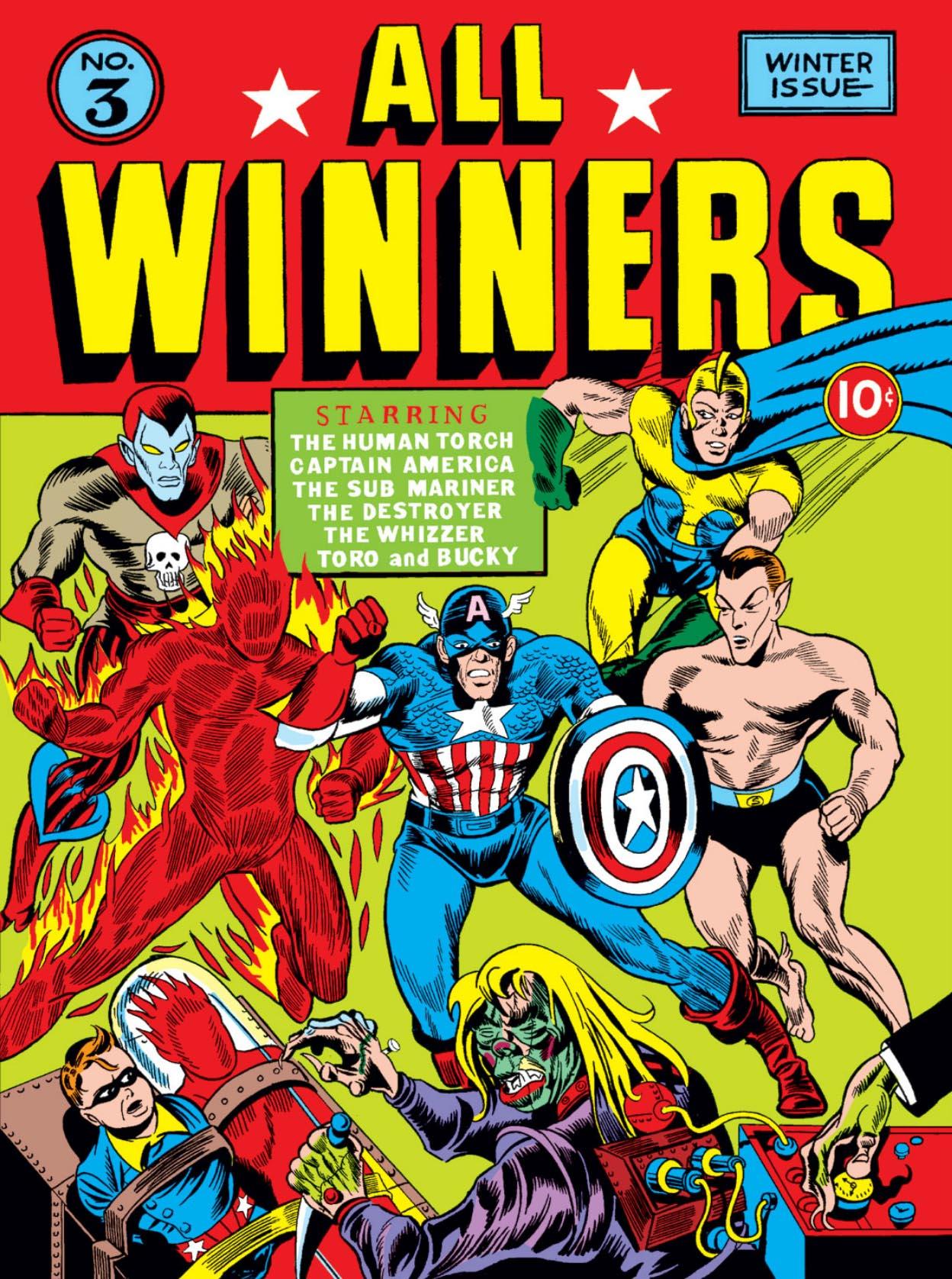 Read online All-Winners Comics comic -  Issue #3 - 1