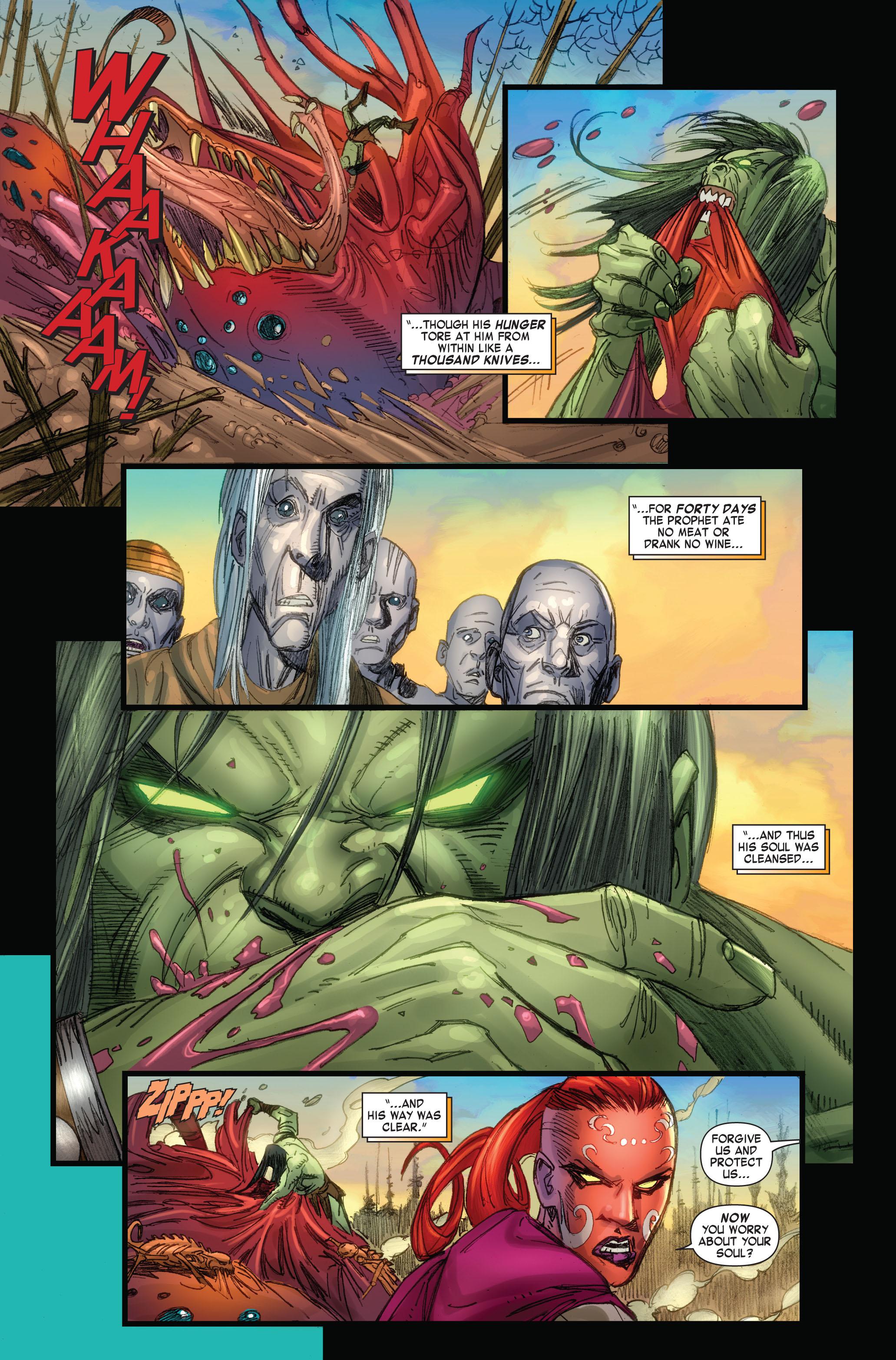 Read online Skaar: Son of Hulk comic -  Issue #4 - 9