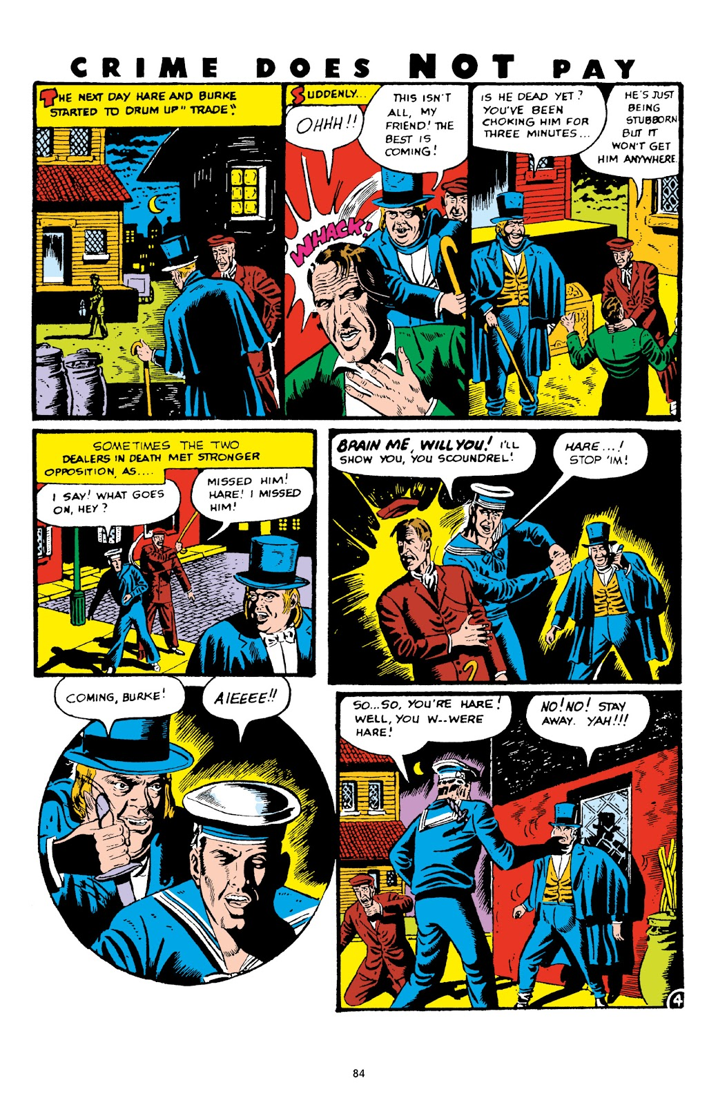 Read online Crime Does Not Pay Archives comic -  Issue # TPB 6 (Part 1) - 86
