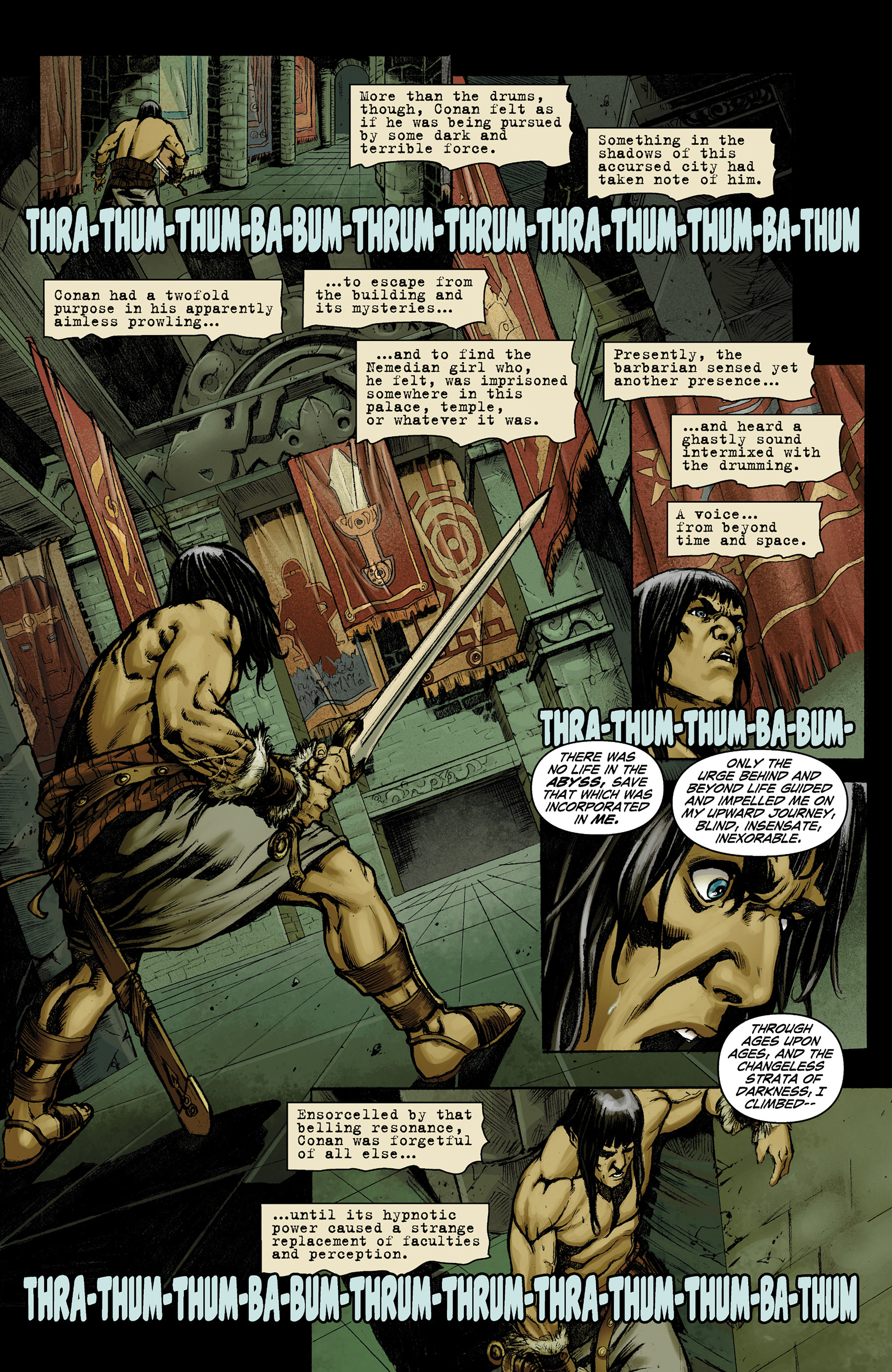 Read online Conan The Slayer comic -  Issue #9 - 15