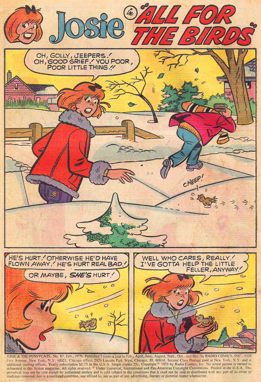 Read online She's Josie comic -  Issue #87 - 3