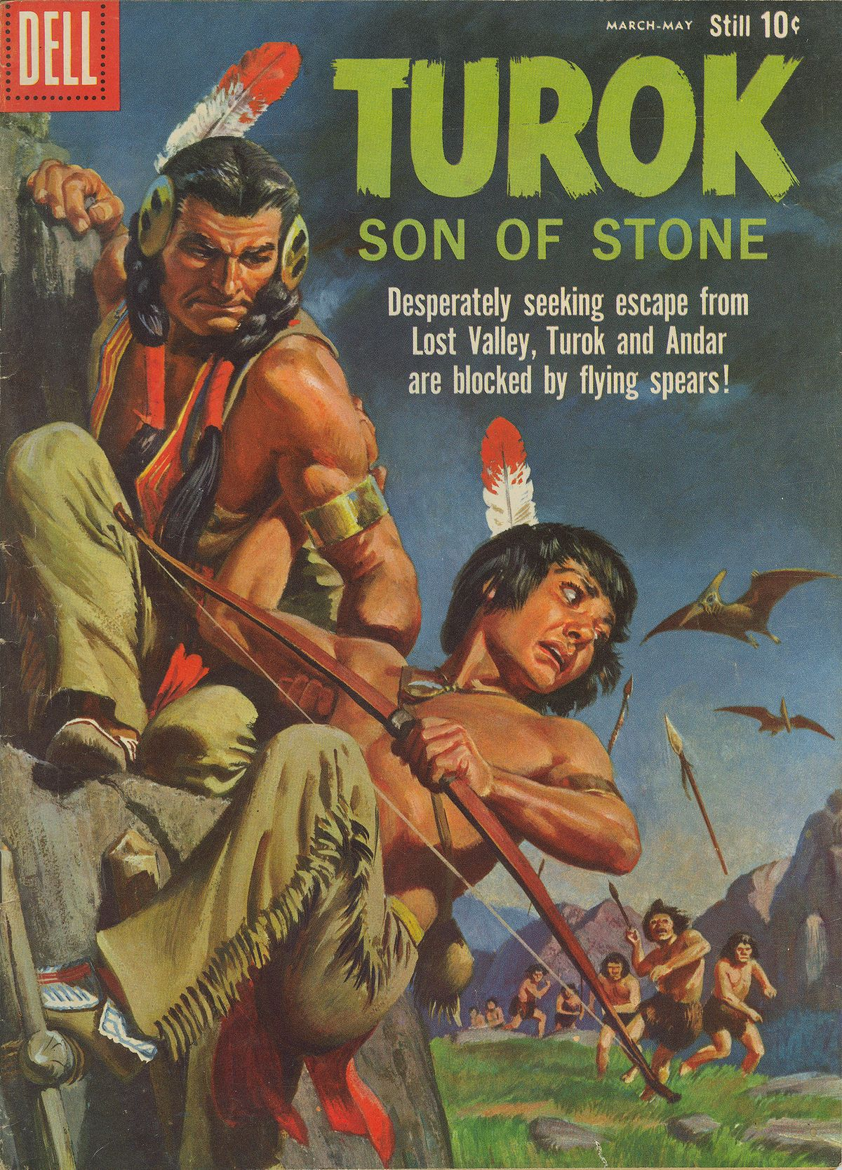 Read online Turok, Son of Stone comic -  Issue #19 - 1