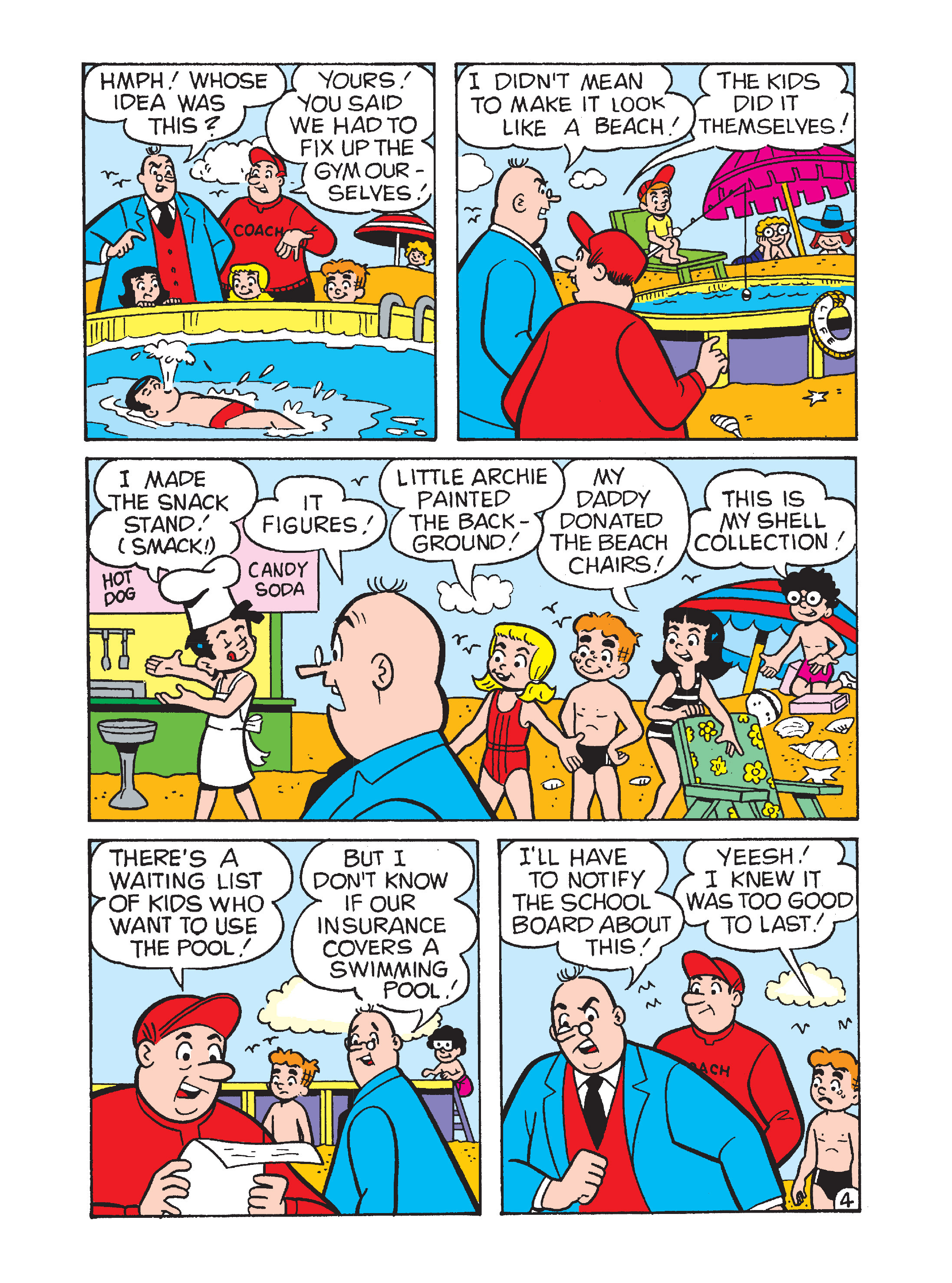 Read online Archie's Funhouse Double Digest comic -  Issue #12 - 131
