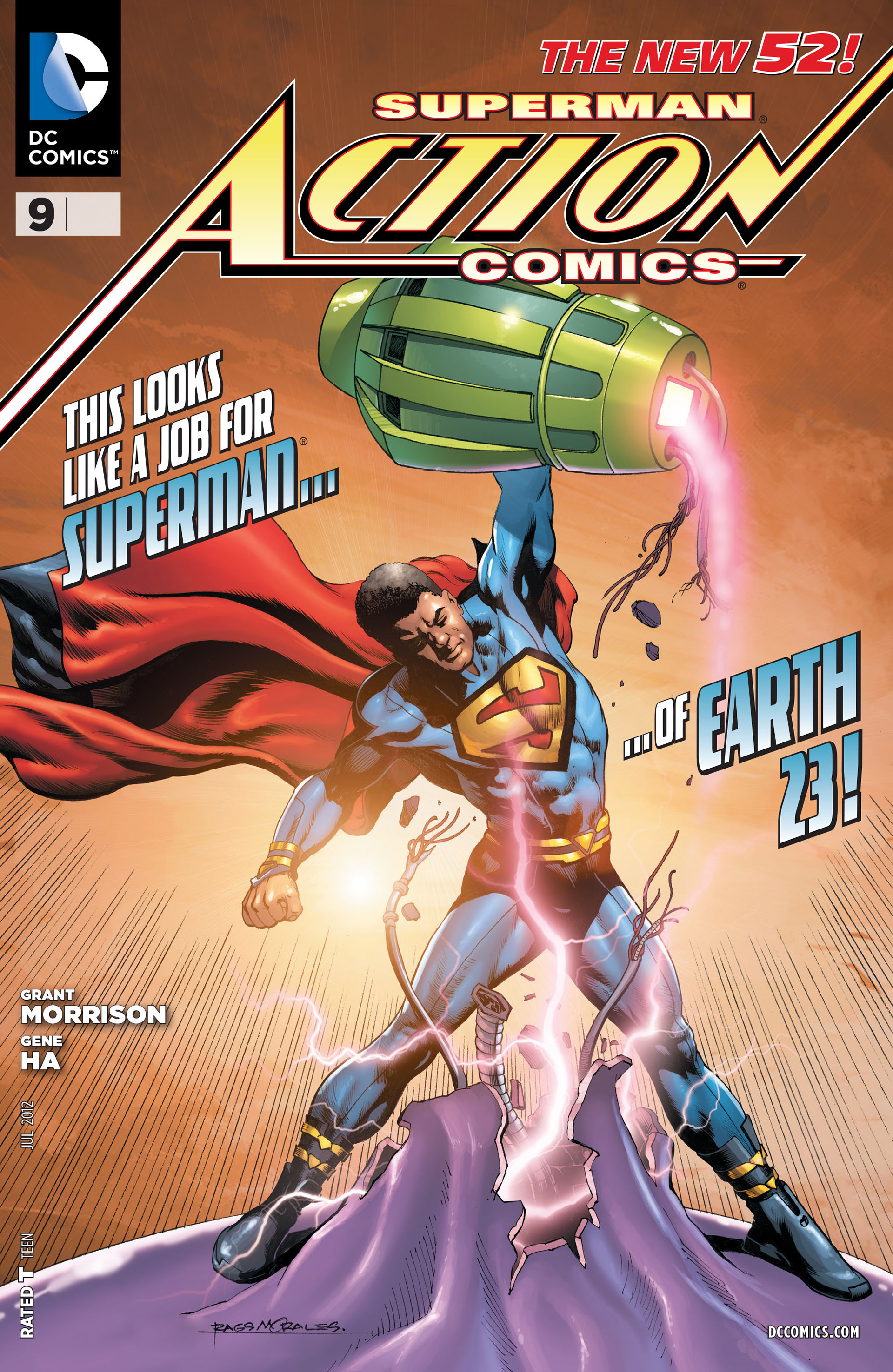 Read online Action Comics (2011) comic -  Issue #9 - 2
