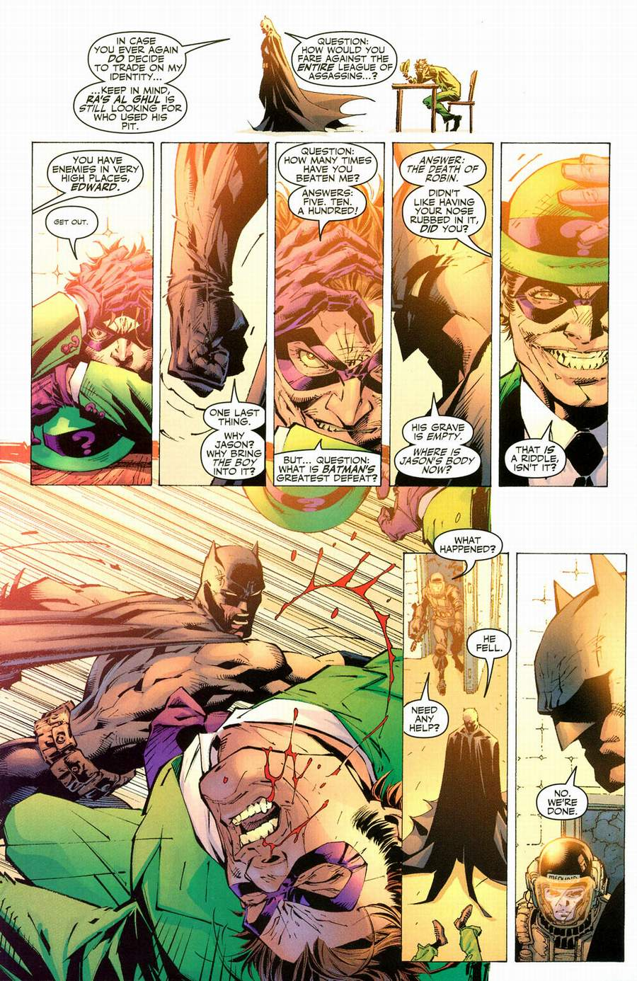 Read online Batman: Hush comic -  Issue #12 - 21