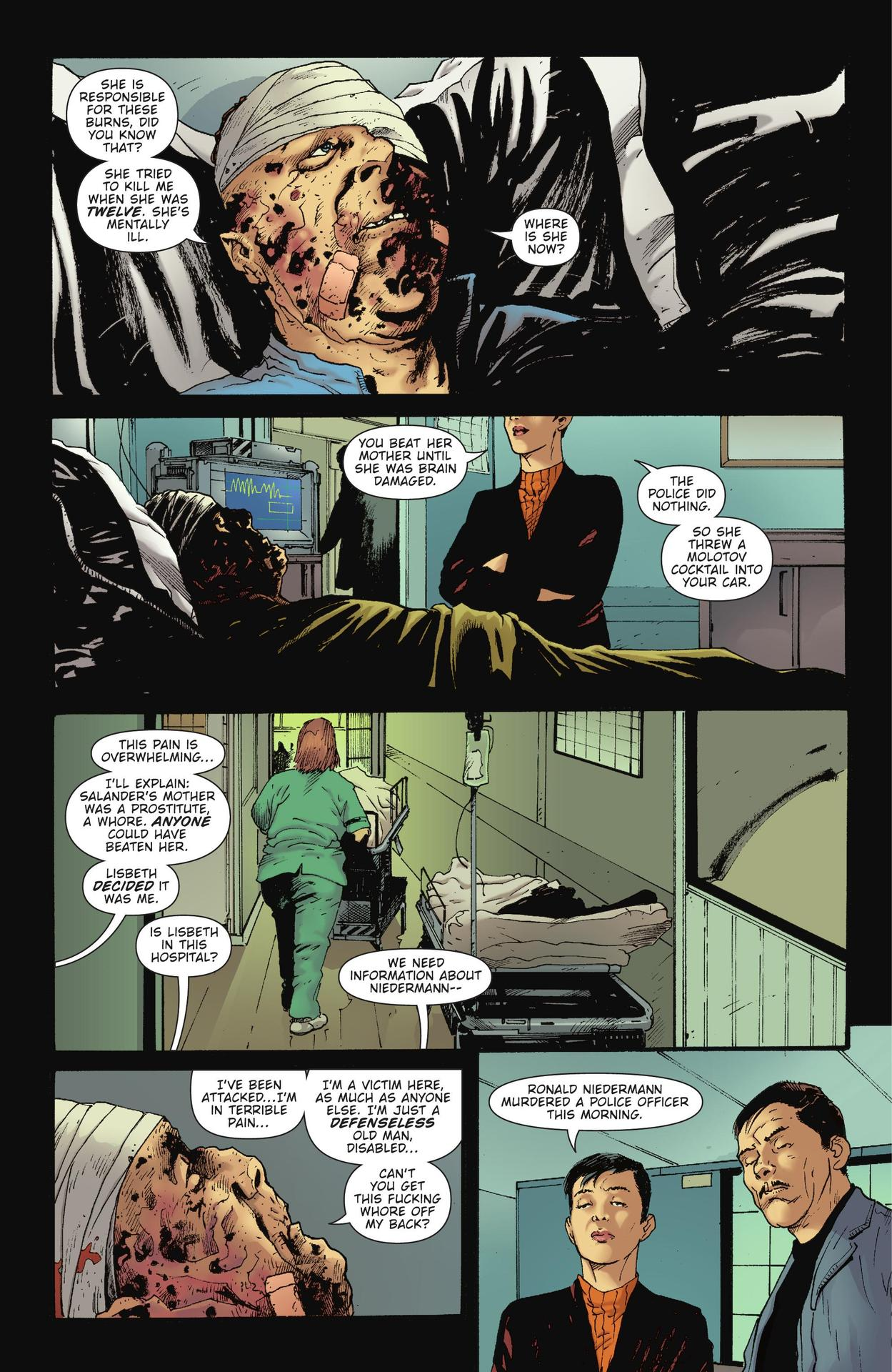 Read online The Girl Who Kicked The Hornet's Nest comic -  Issue # TPB - 32