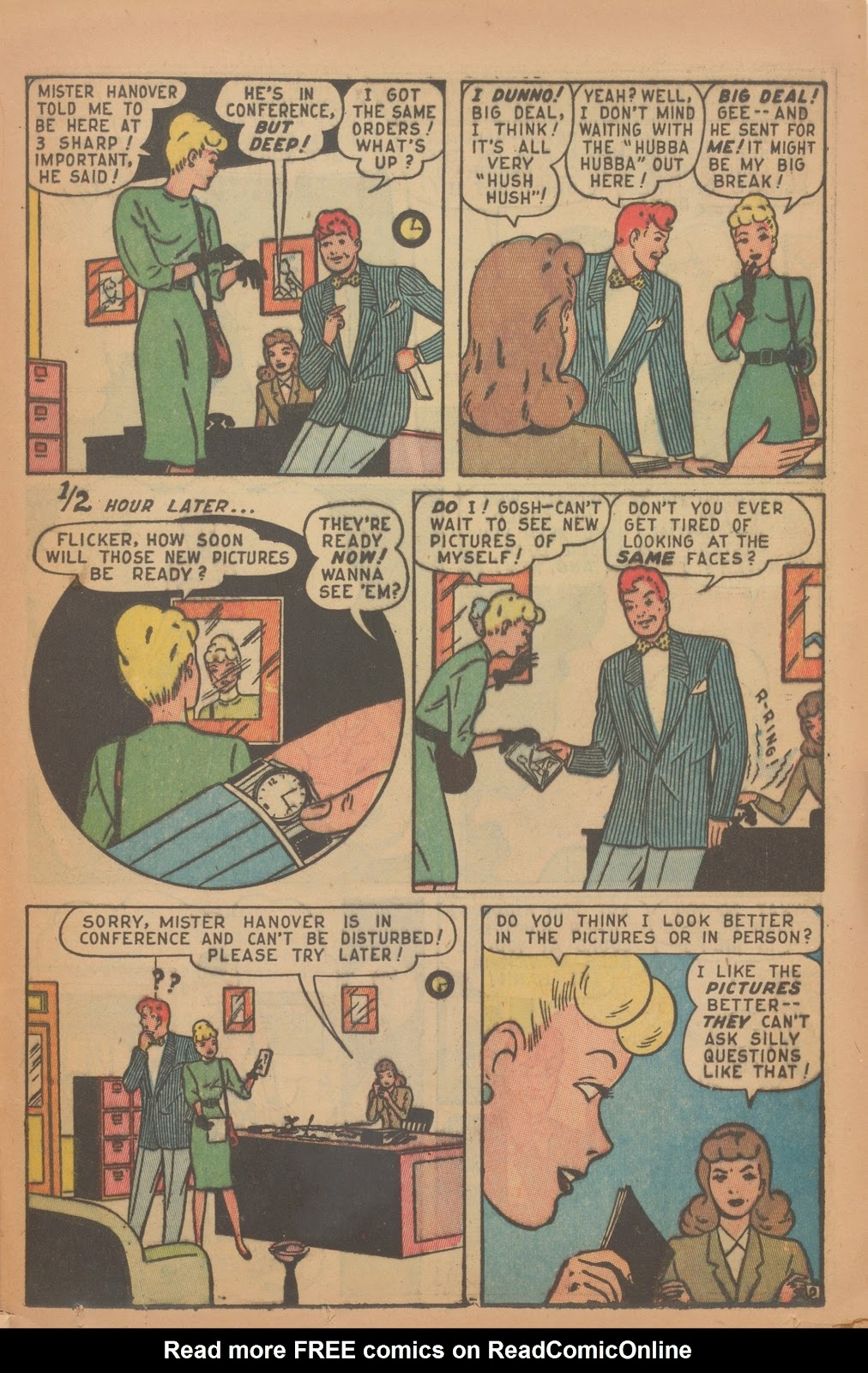 Read online Nellie The Nurse (1945) comic -  Issue #9 - 35
