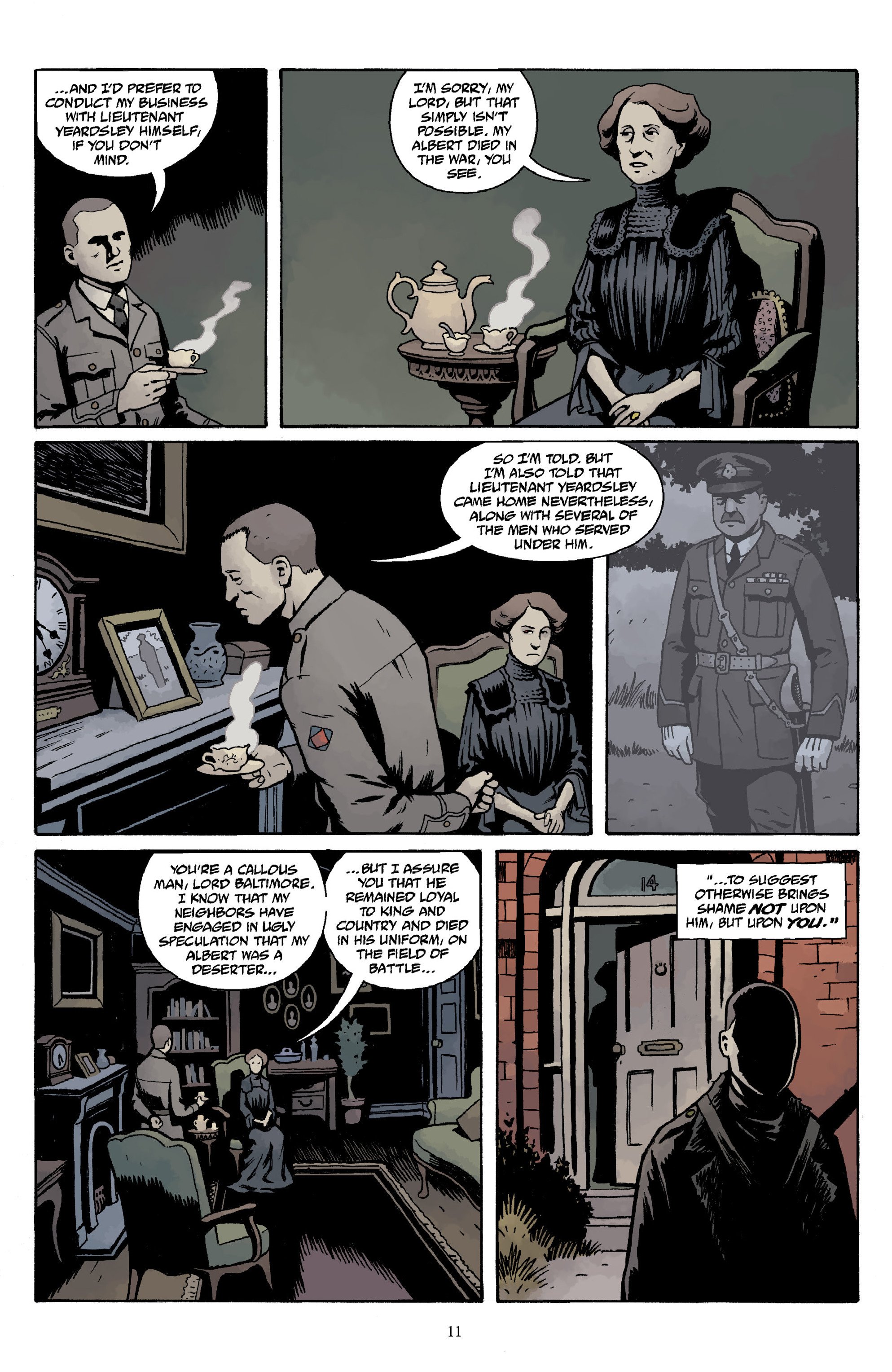Read online Baltimore Volume 3: A Passing Stranger and Other Stories comic -  Issue # Full - 13