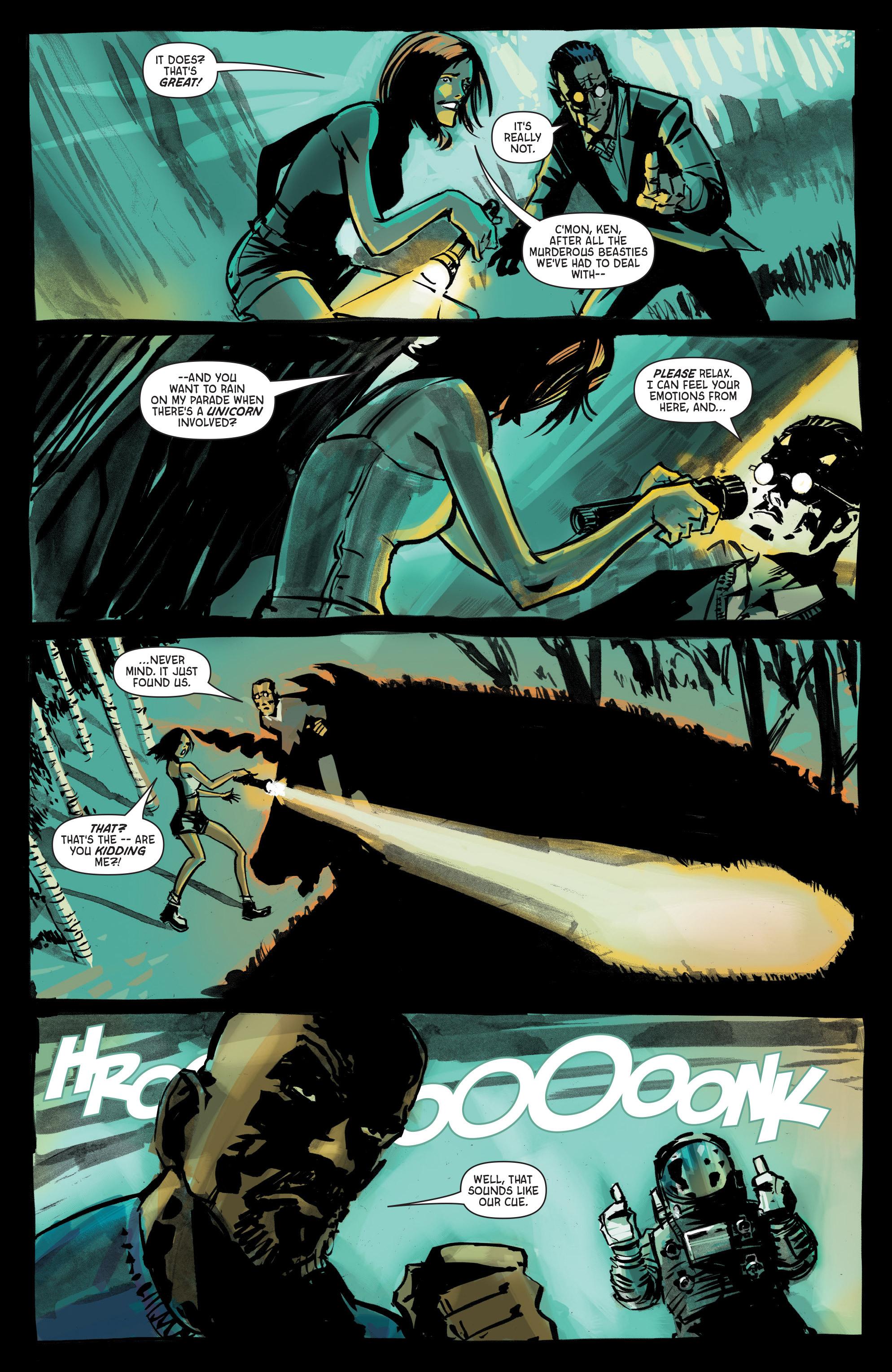 Read online Hoax Hunters (2012) comic -  Issue # TPB 3 - 109