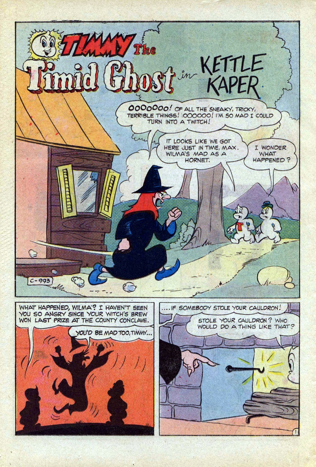Read online Timmy the Timid Ghost comic -  Issue #17 - 26