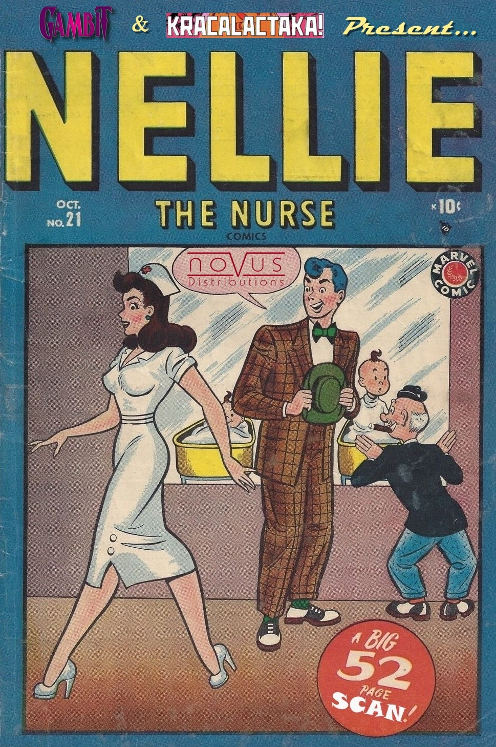 Read online Nellie The Nurse (1945) comic -  Issue #21 - 53
