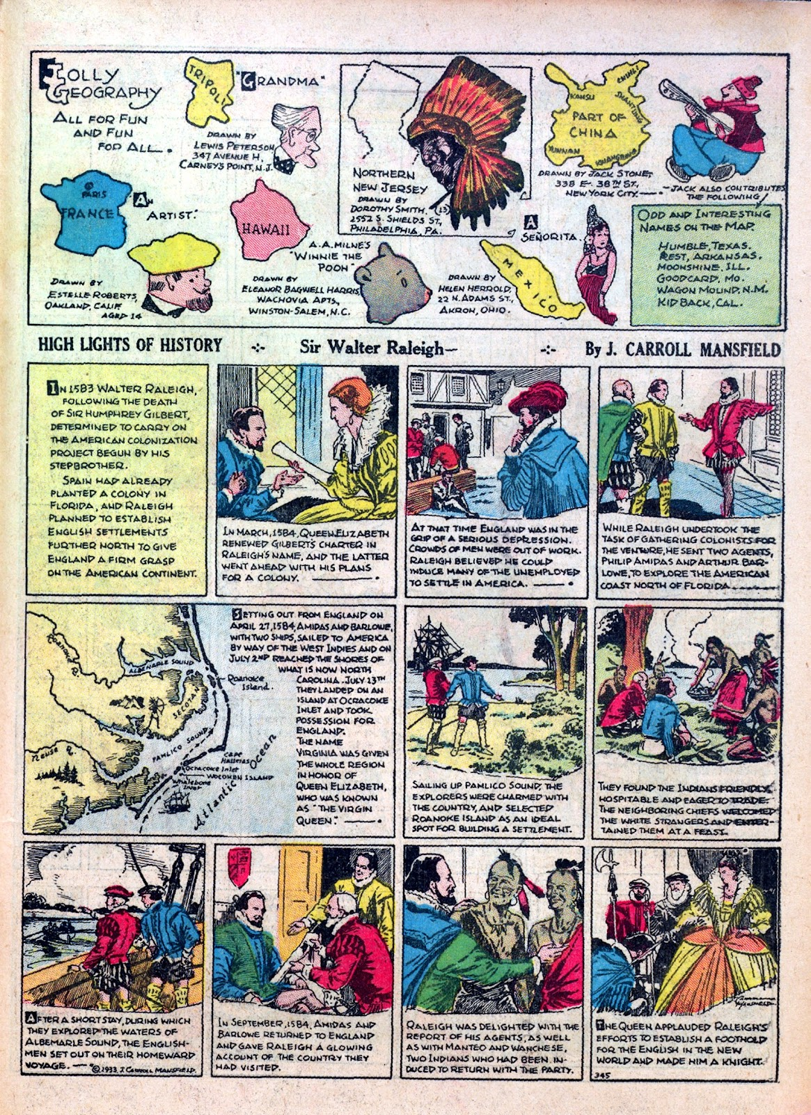 Read online Famous Funnies comic -  Issue #7 - 61