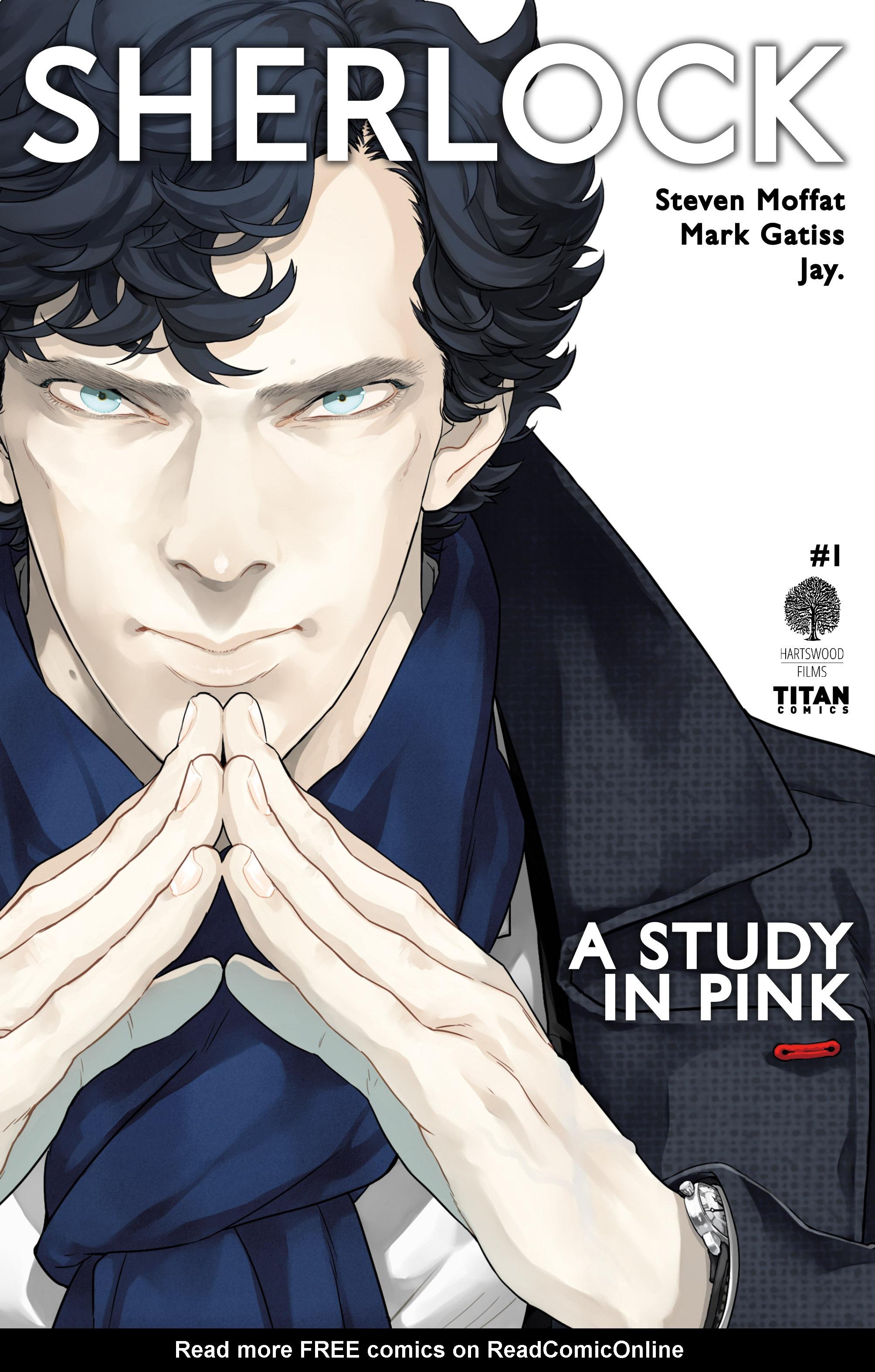 Read online Sherlock: A Study In Pink comic -  Issue #1 - 1