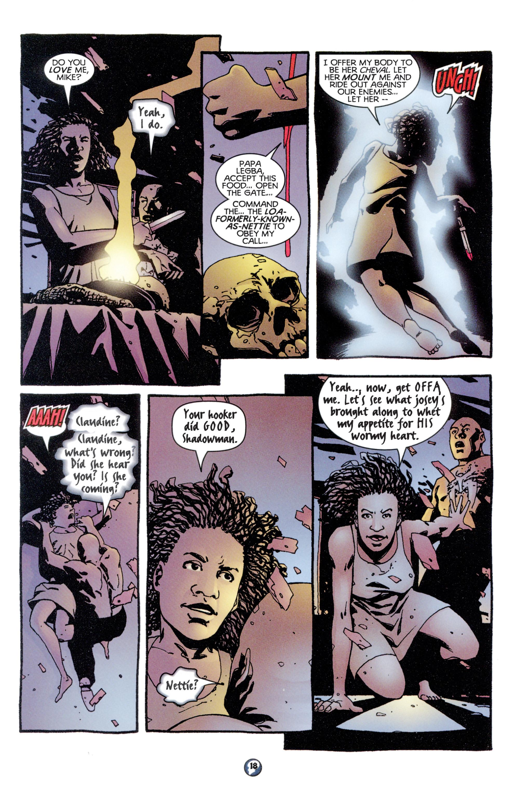 Read online Shadowman (1997) comic -  Issue #8 - 15