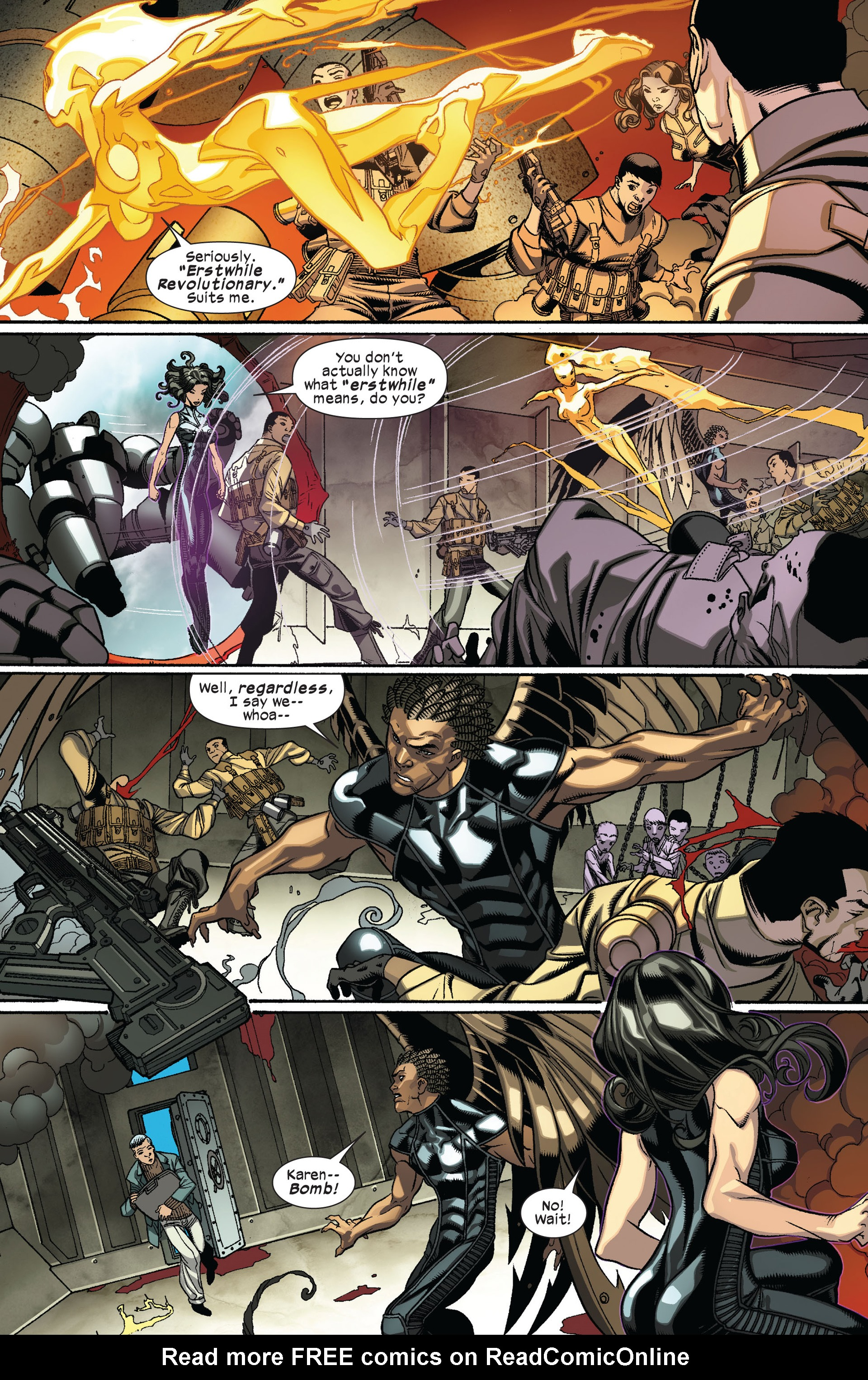 Read online Ultimate Comics X-Men comic -  Issue #8 - 11