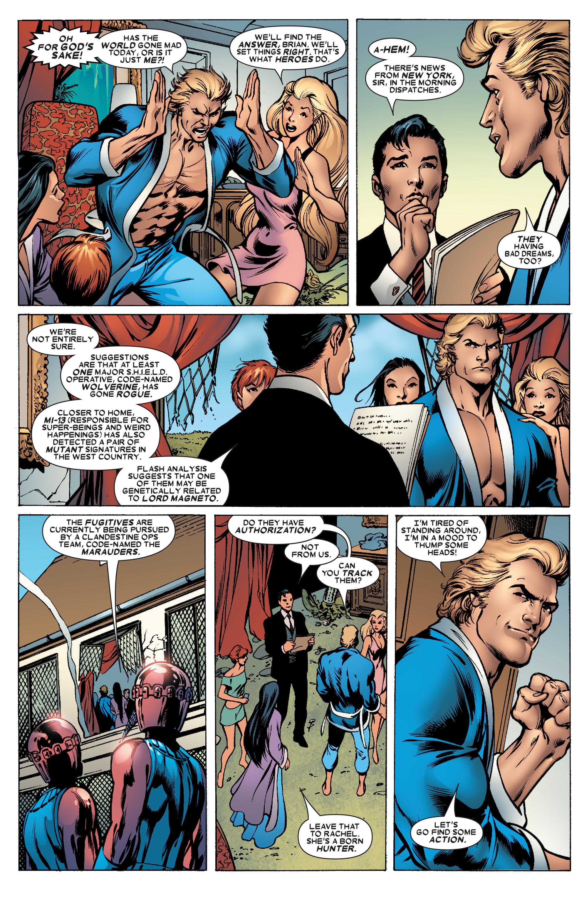 Read online Uncanny X-Men (1963) comic -  Issue #463 - 16