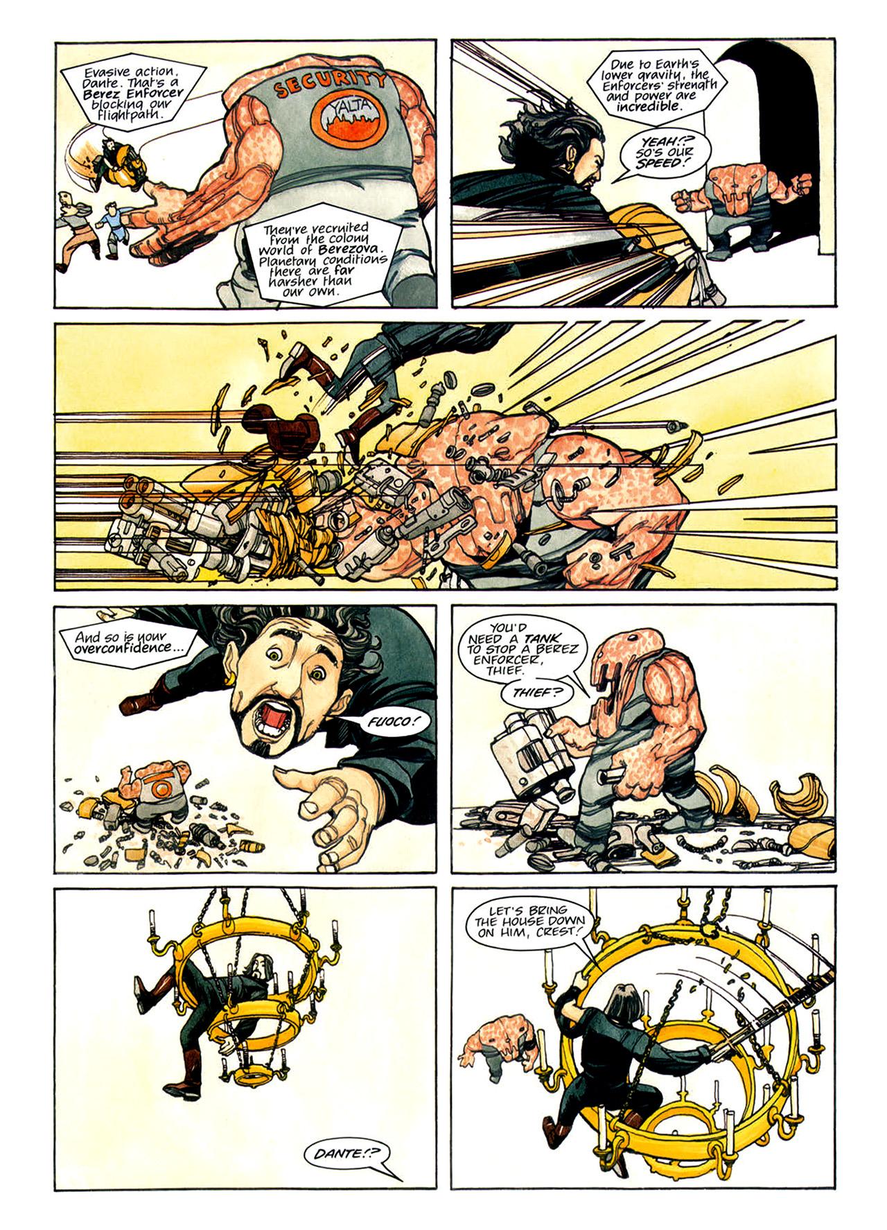 Read online Nikolai Dante comic -  Issue # TPB 1 - 119