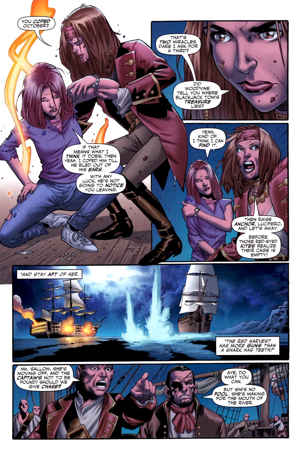 Read online Sigil (2011) comic -  Issue #3 - 11