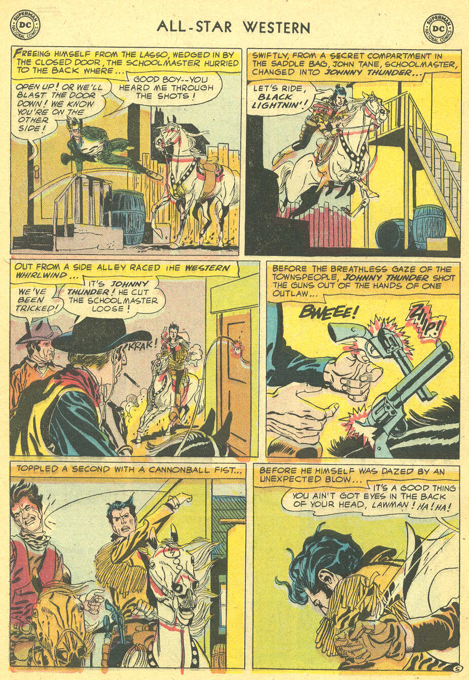 Read online All-Star Western (1951) comic -  Issue #92 - 32
