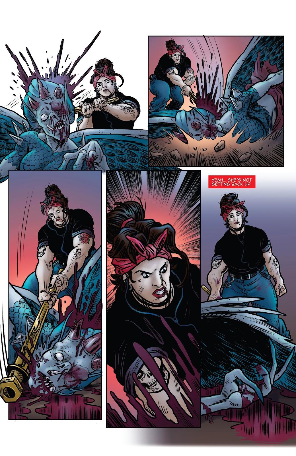 Read online Black Betty comic -  Issue #8 - 22