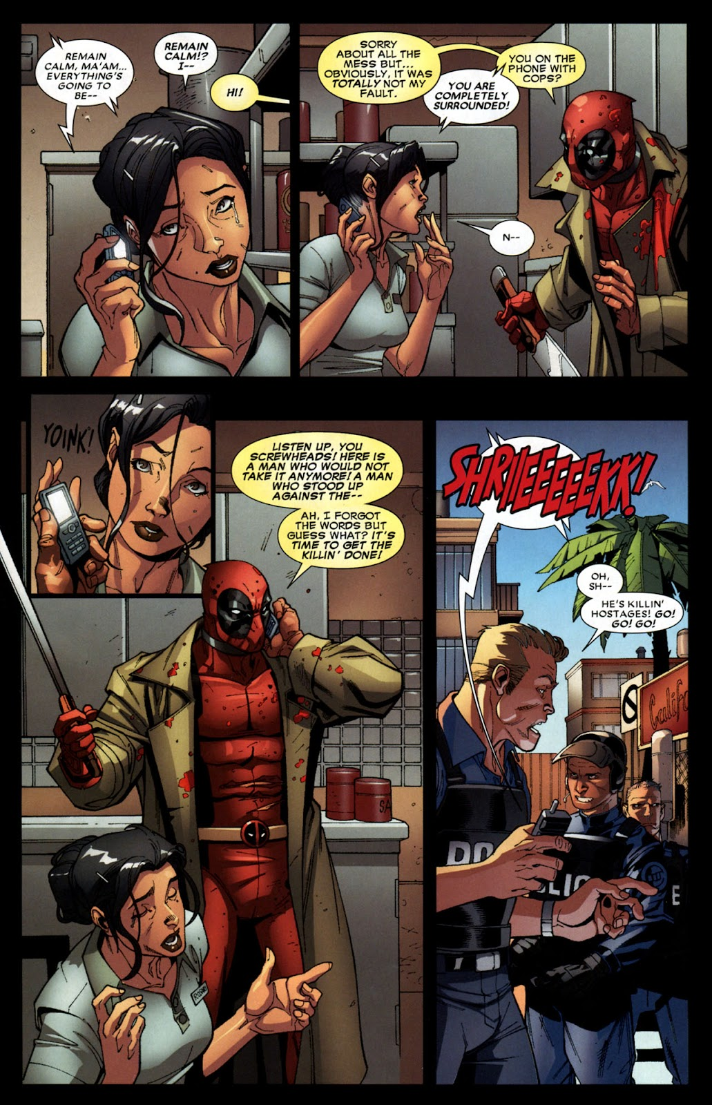 Read online Deadpool (2008) comic -  Issue #6 - 19