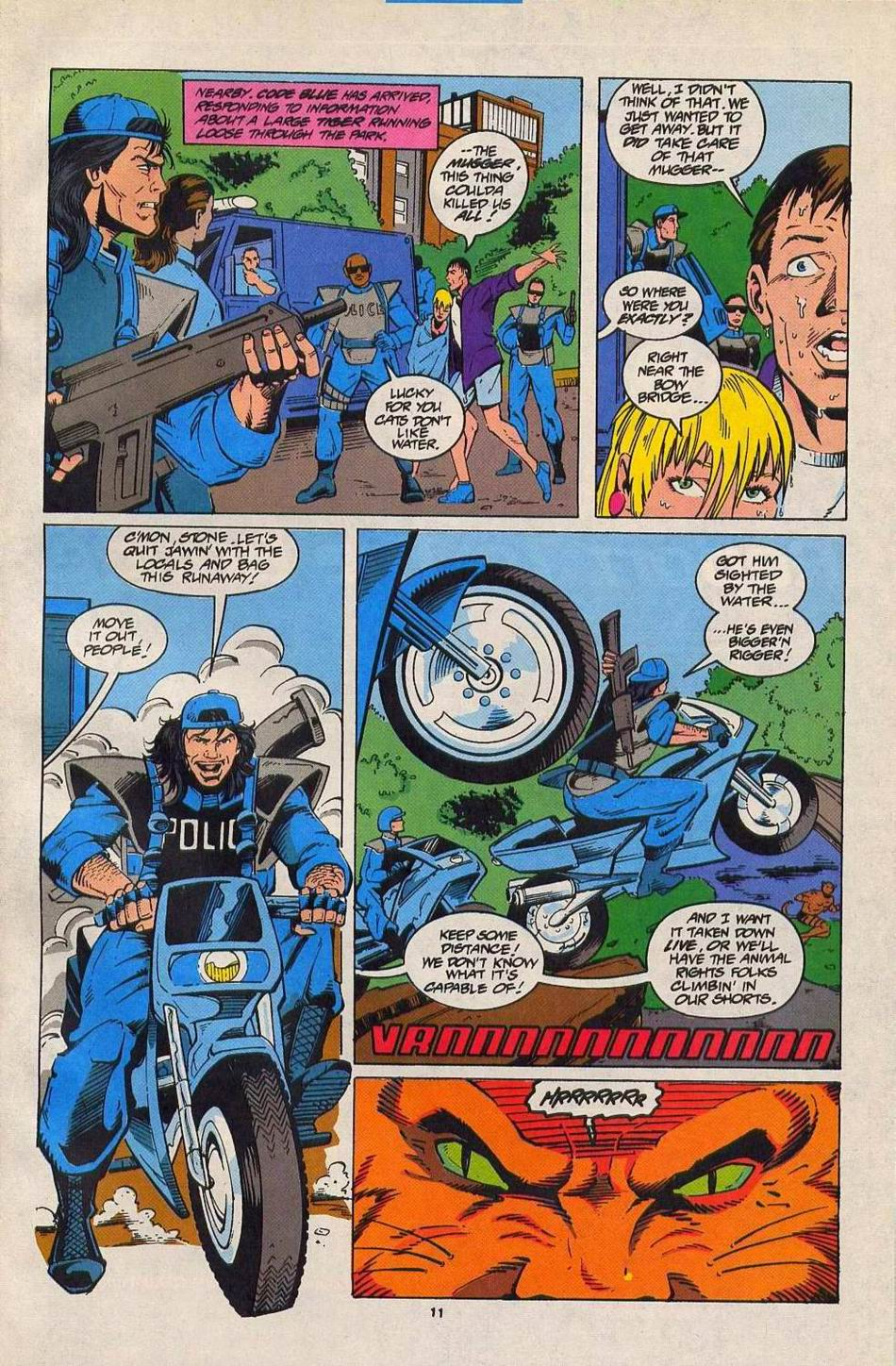 Read online Silver Sable and the Wild Pack comic -  Issue #27 - 9