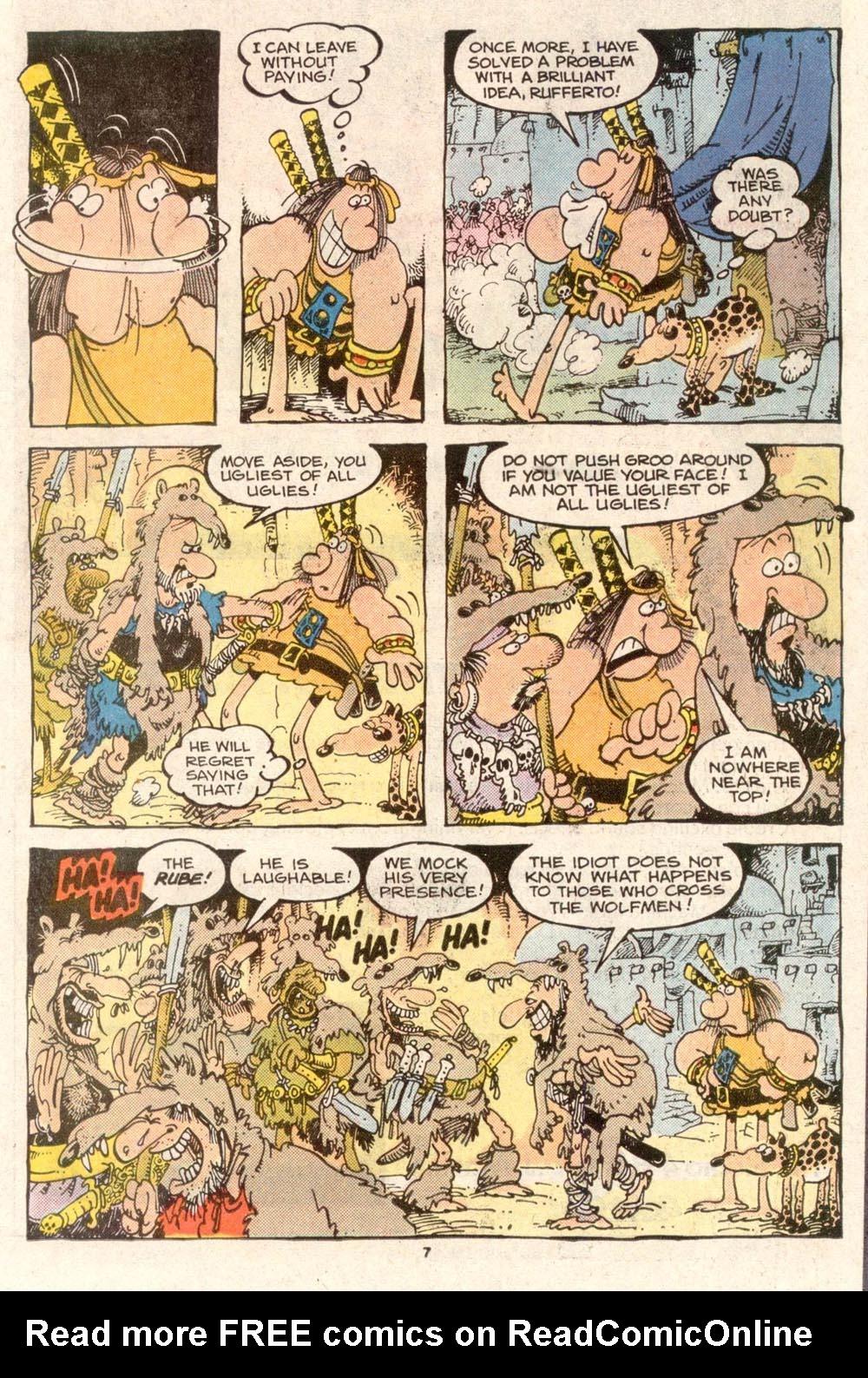 Read online Sergio Aragonés Groo the Wanderer comic -  Issue #49 - 7