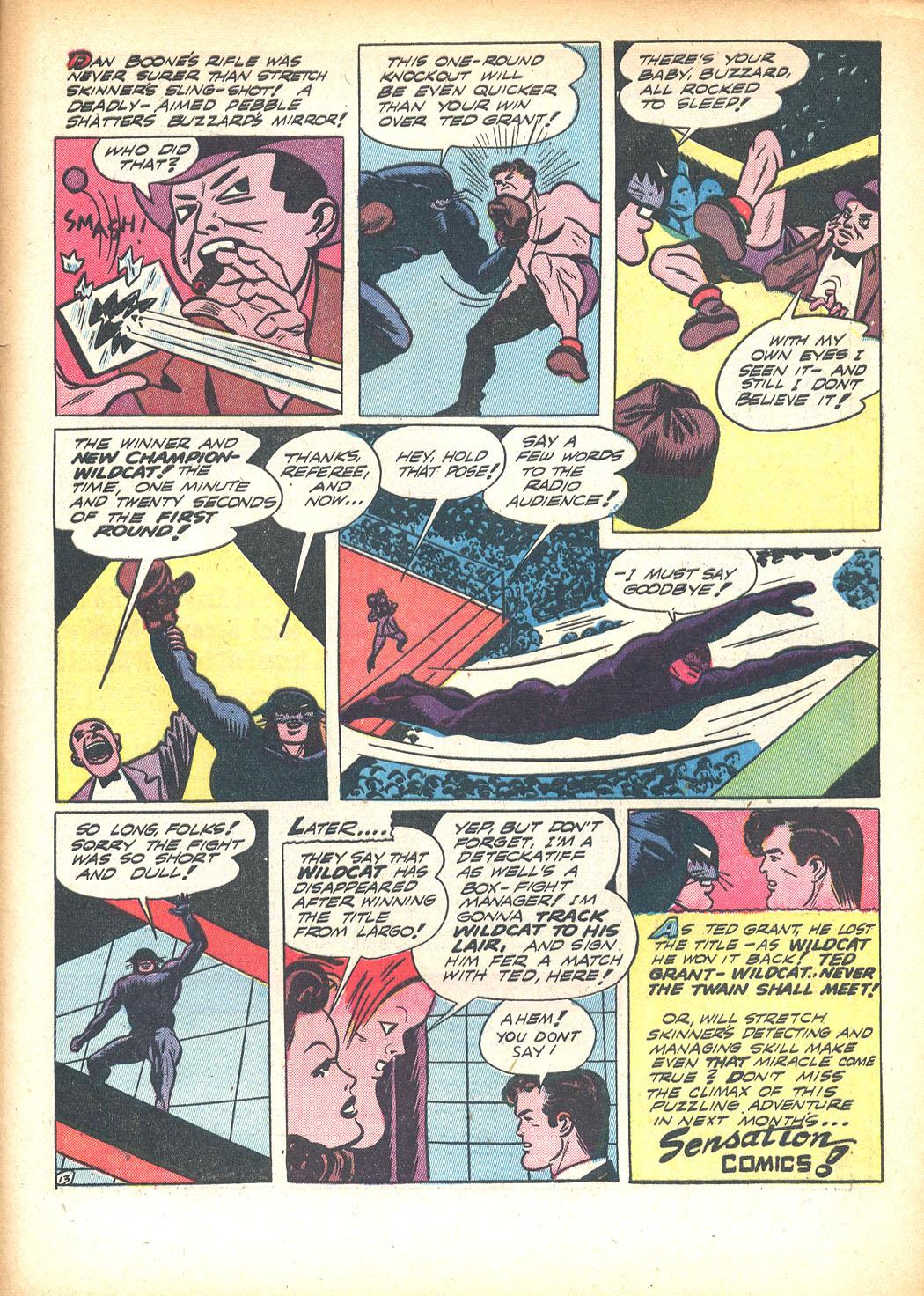 Read online Sensation (Mystery) Comics comic -  Issue #13 - 65