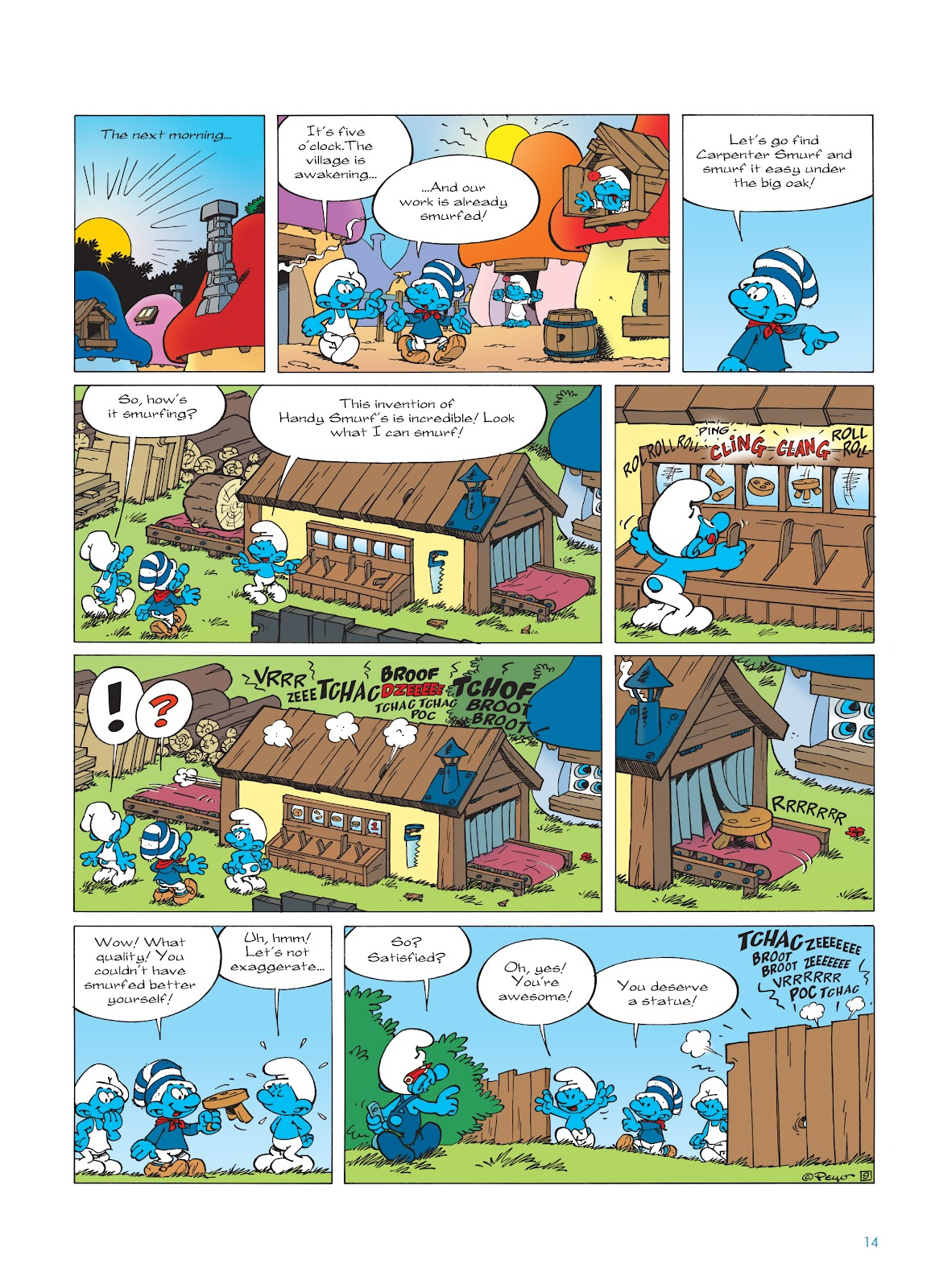 Read online The Smurfs comic -  Issue #23 - 14