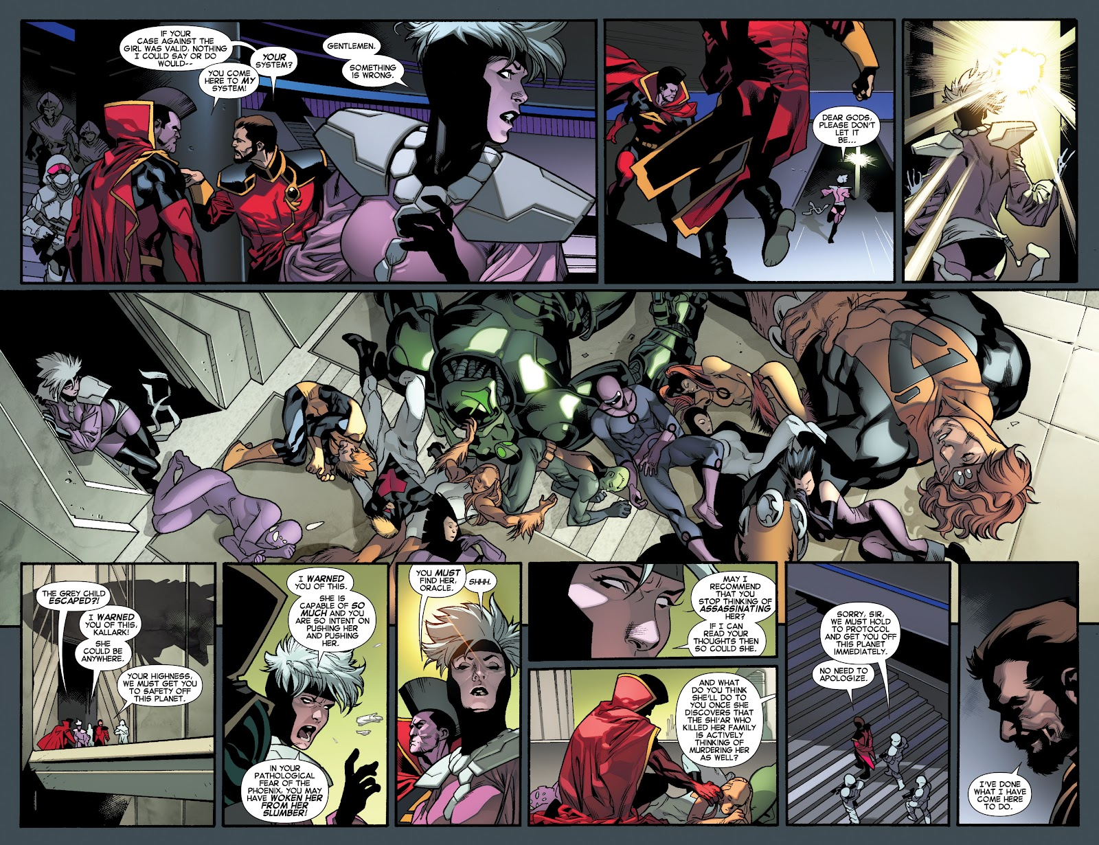 Guardians of the Galaxy/All-New X-Men: The Trial of Jean Grey issue TPB - Page 88