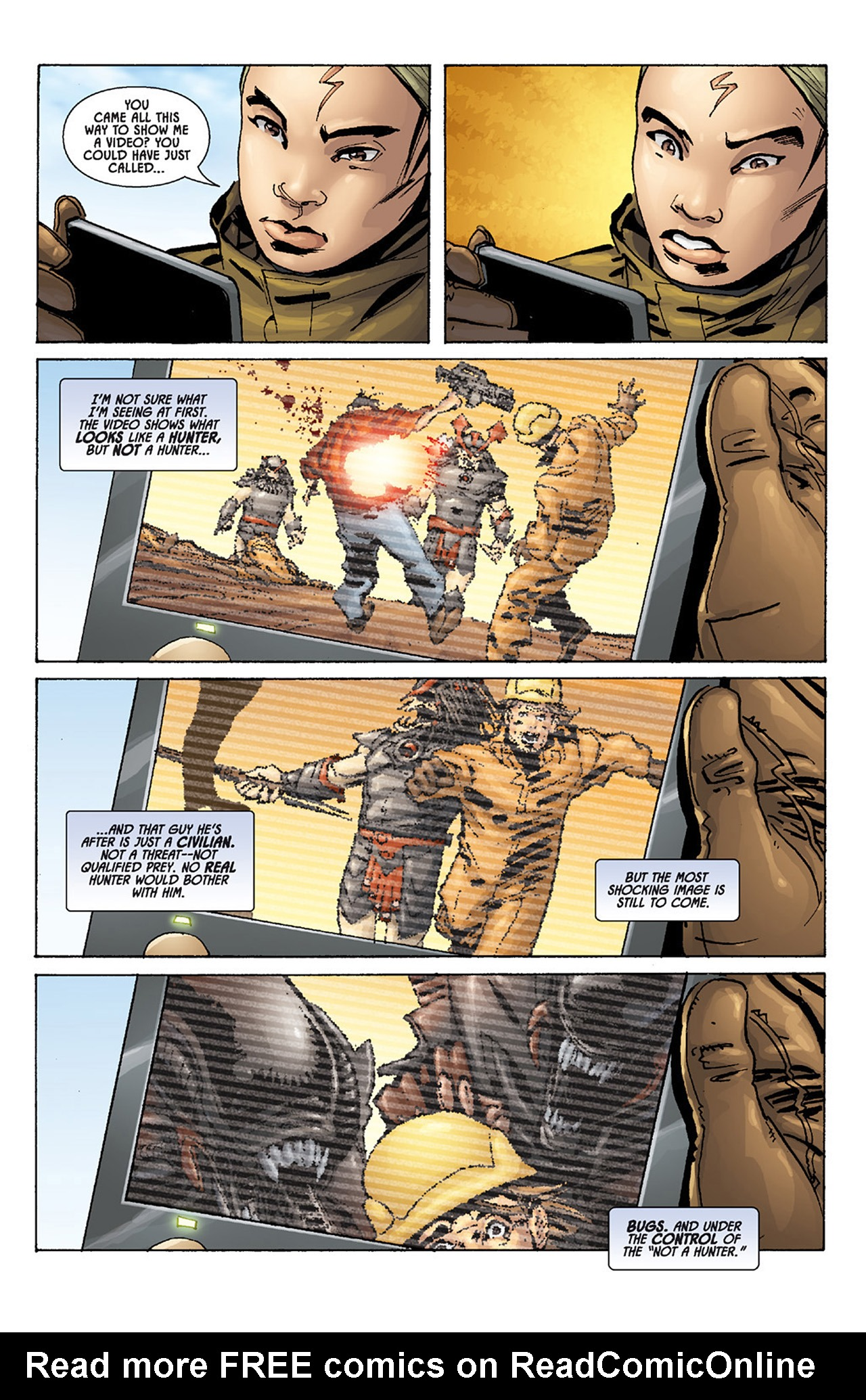 Read online Aliens vs. Predator: Three World War comic -  Issue #1 - 21