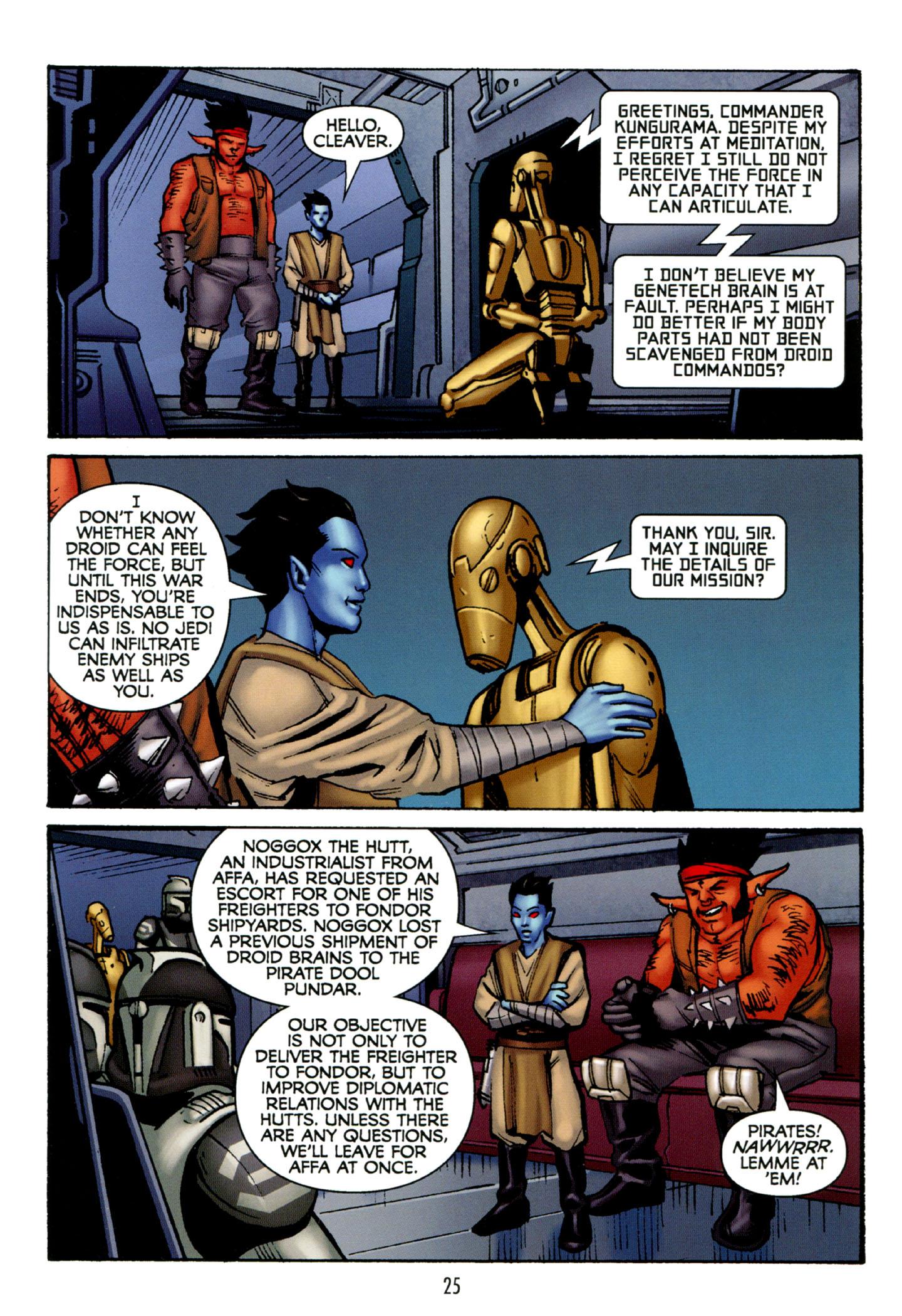 Read online Star Wars: The Clone Wars - Strange Allies comic -  Issue # Full - 26