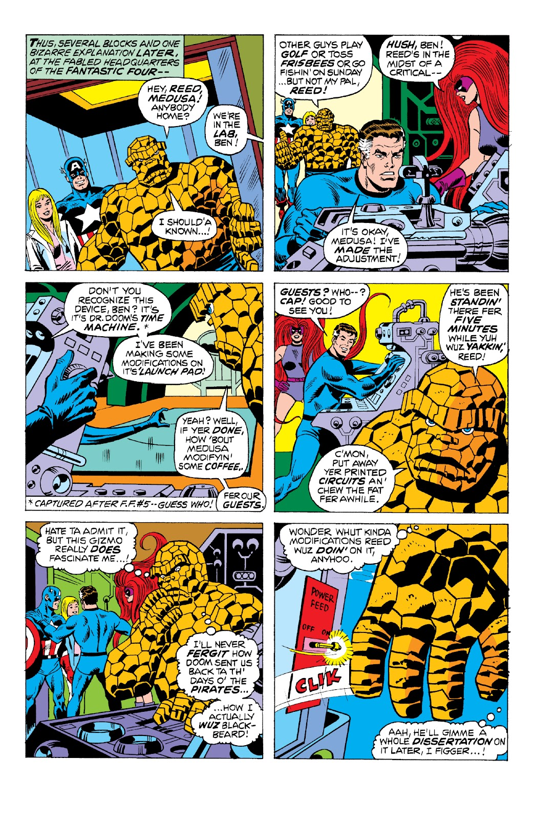Read online Marvel Two-In-One Epic Collection: Cry Monster comic -  Issue # TPB (Part 2) - 13