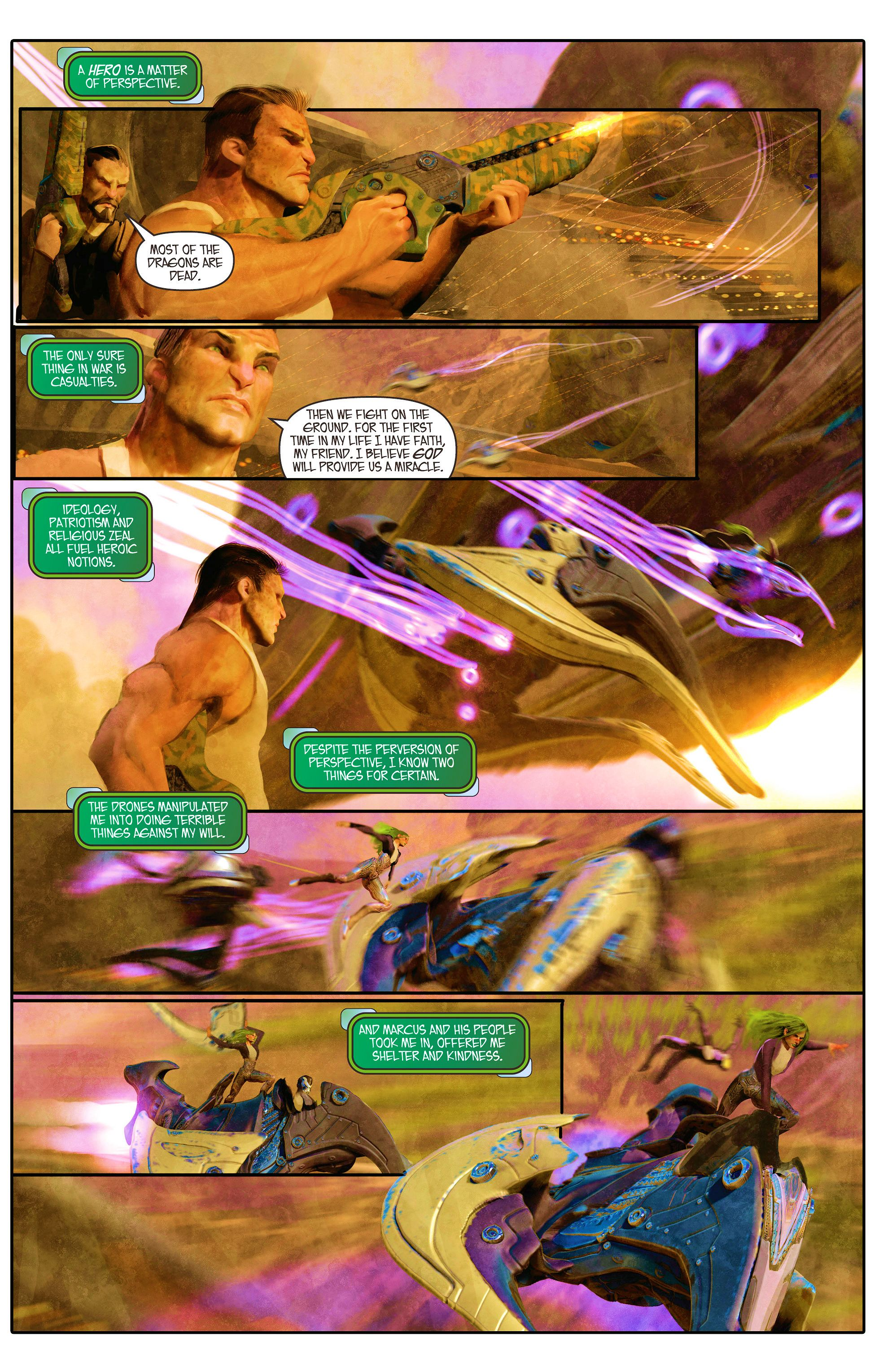 Read online Aphrodite IX (2013) comic -  Issue #5 - 11