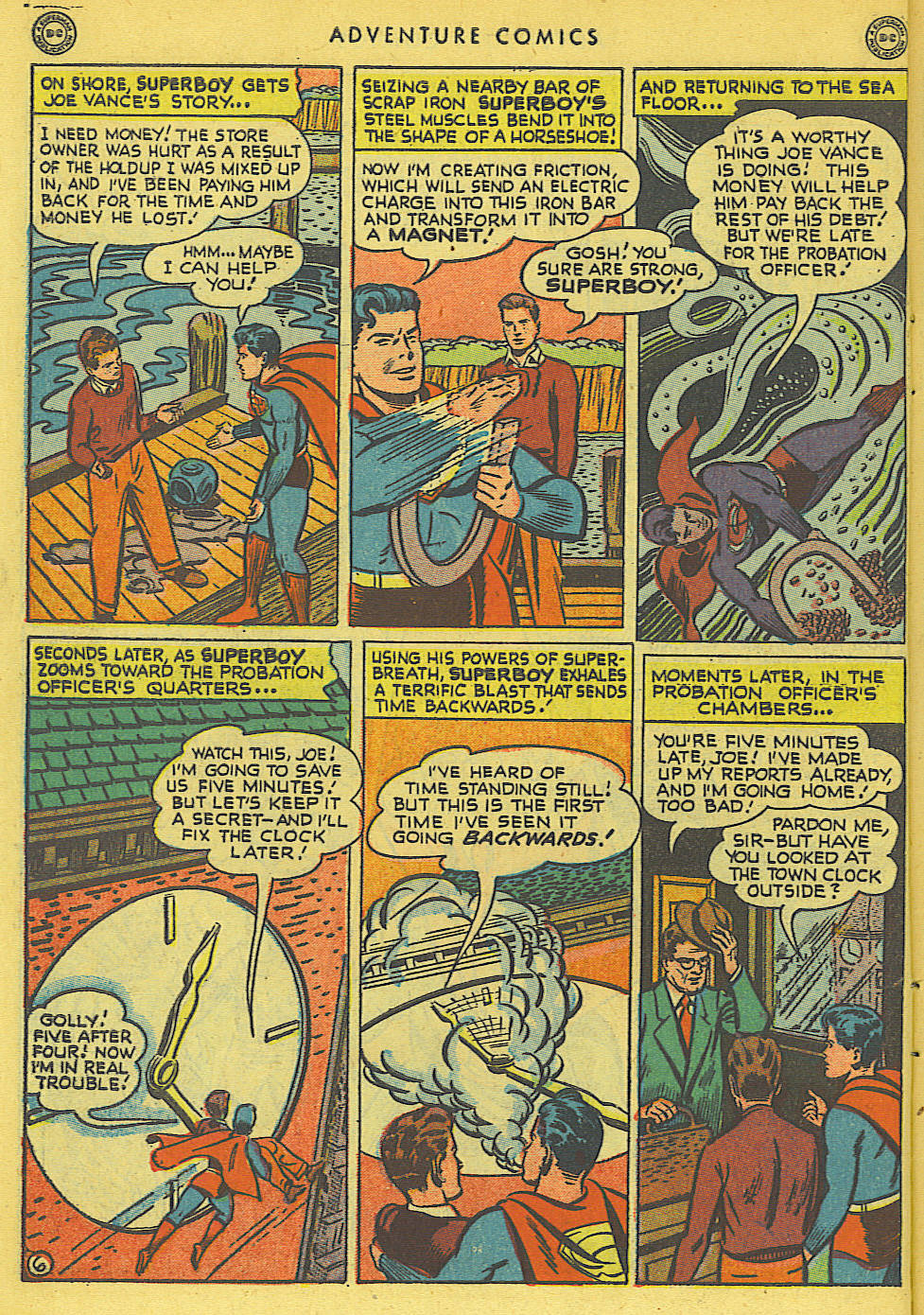 Read online Adventure Comics (1938) comic -  Issue #136 - 8