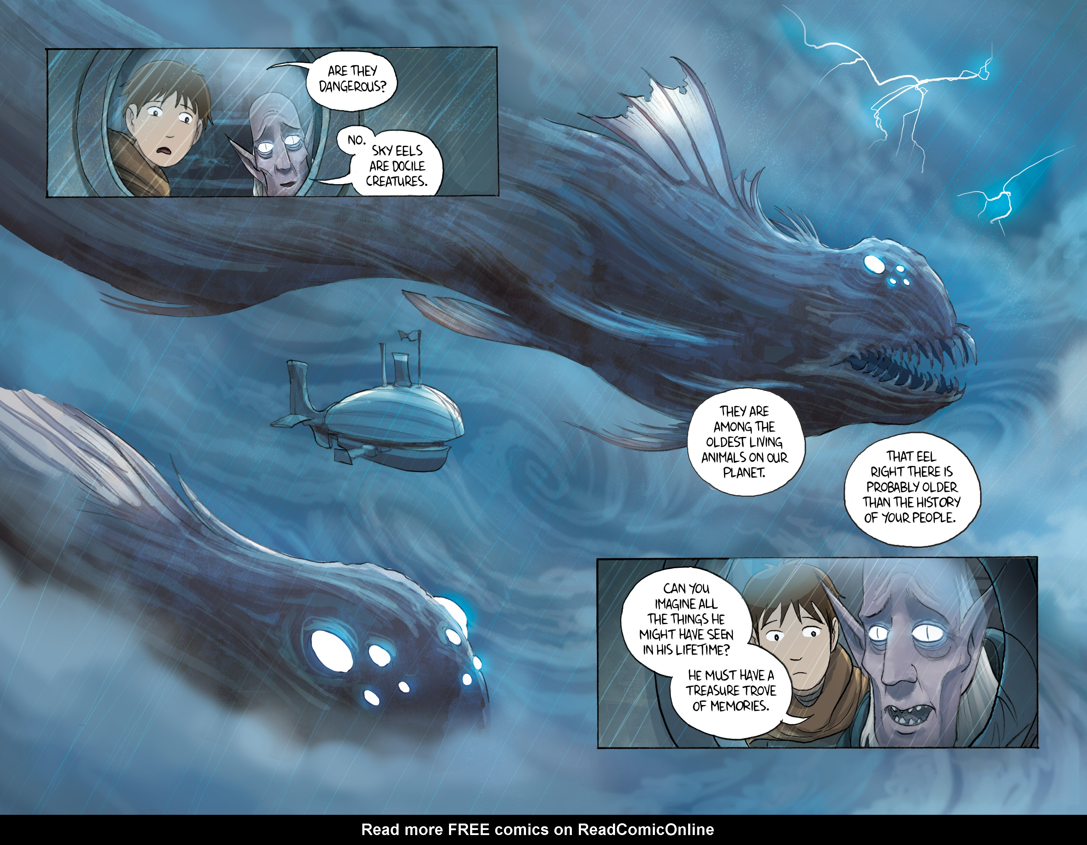 Read online Amulet comic -  Issue #3 - 149