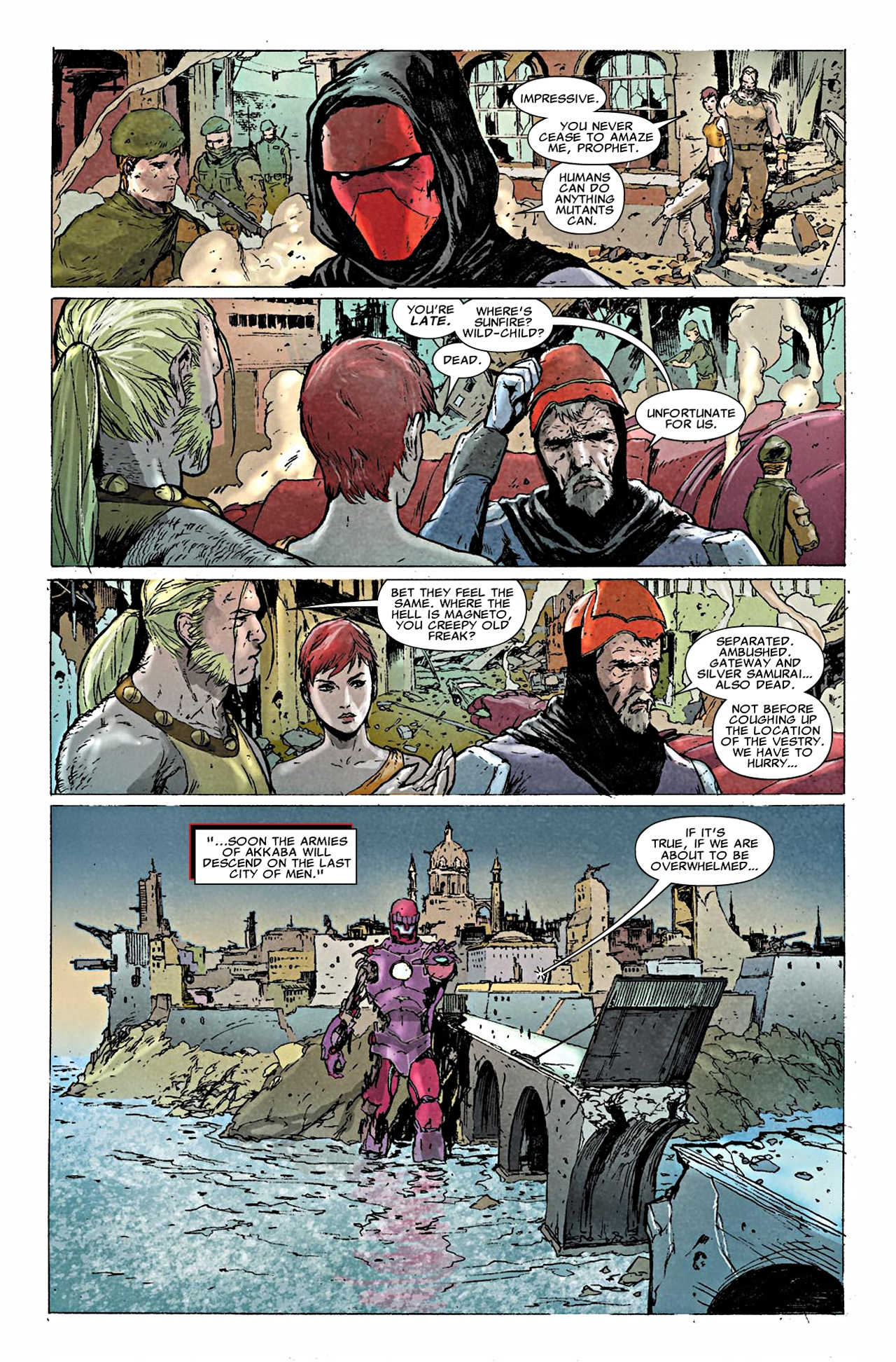 Read online Uncanny X-Force (2010) comic -  Issue #19.1 - 6