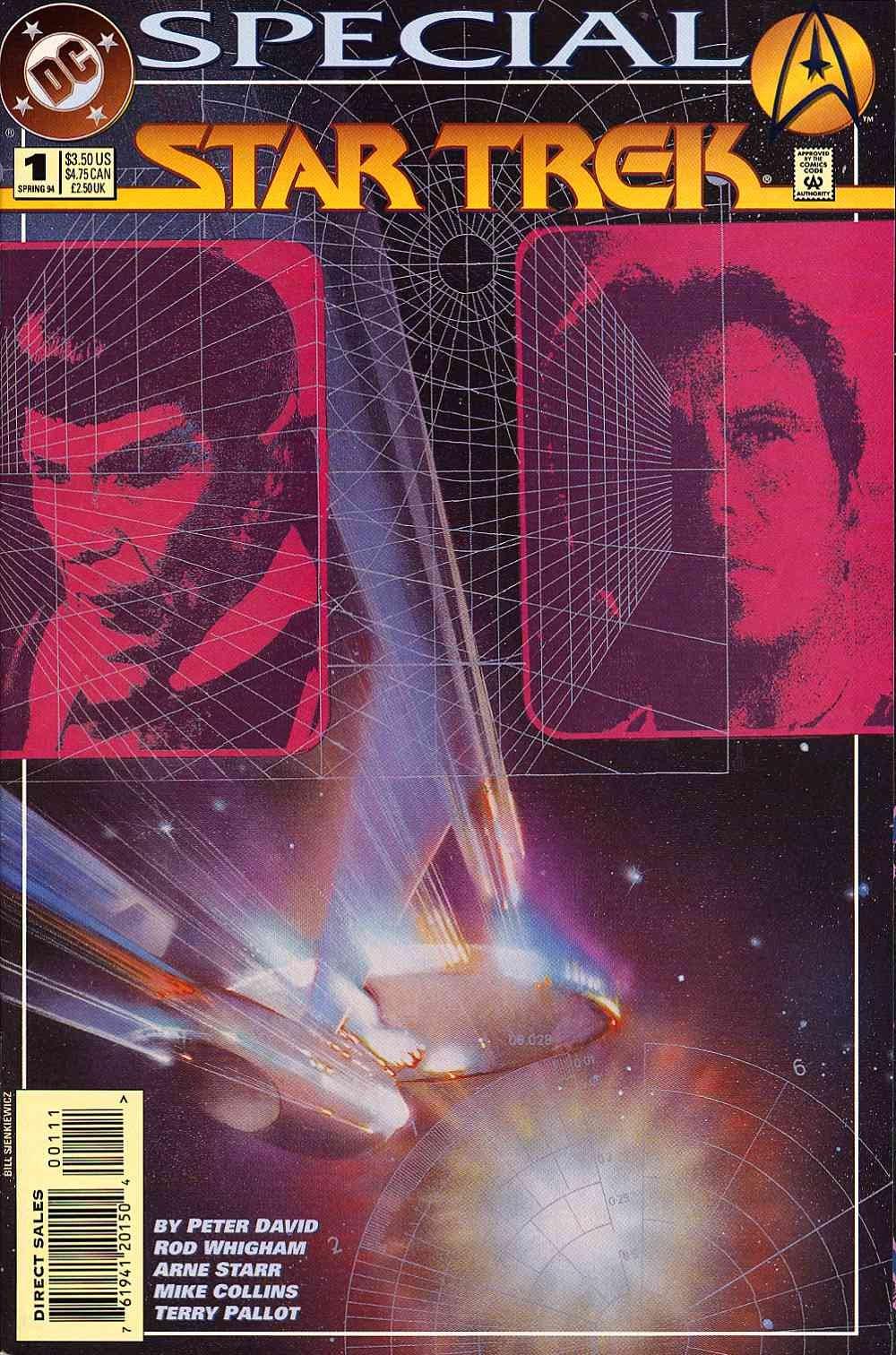 Read online Star Trek (1989) comic -  Issue # _Special 1 - 1