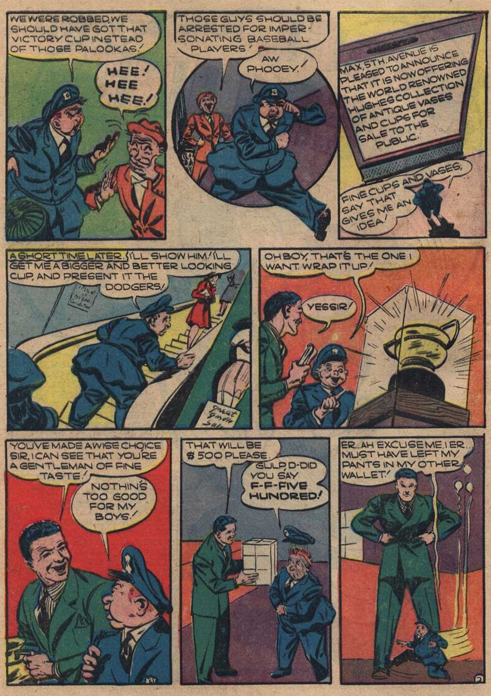Zip Comics 25 Page 5