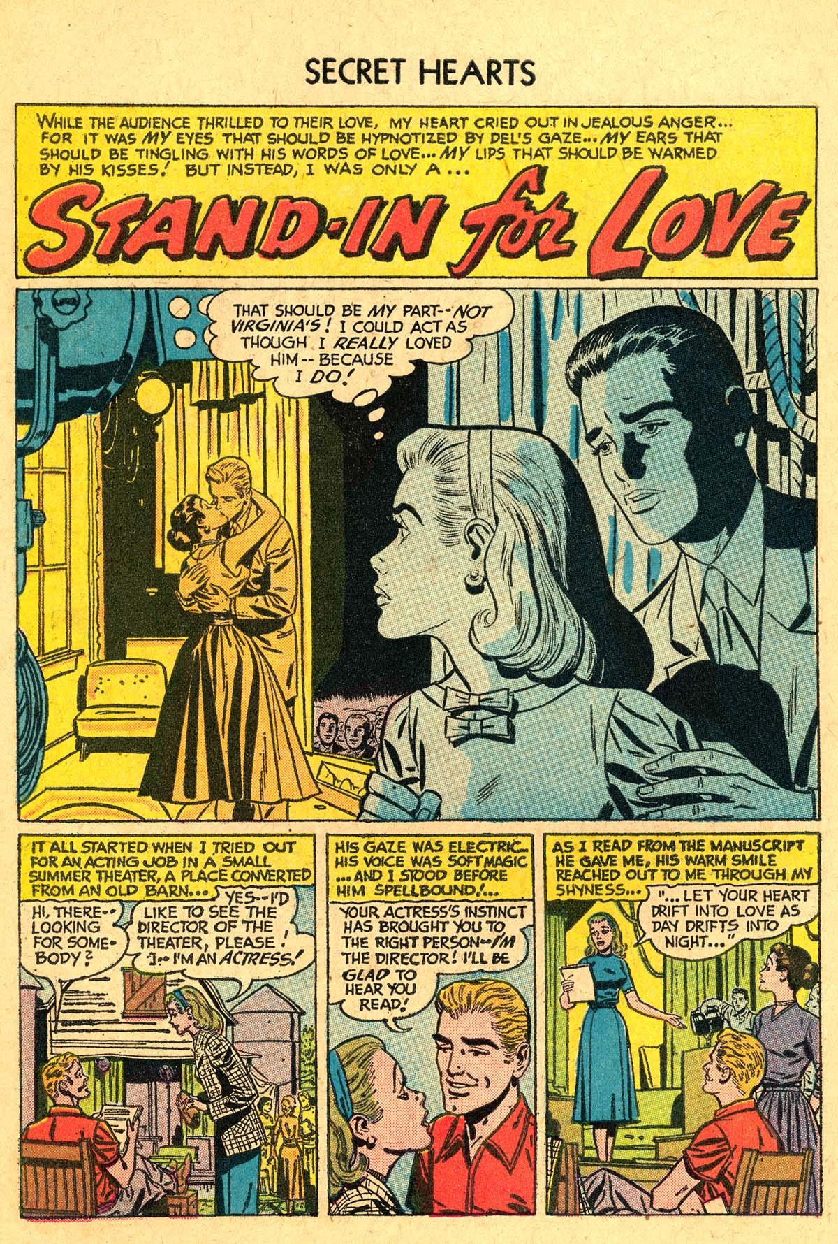 Read online Secret Hearts comic -  Issue #40 - 10