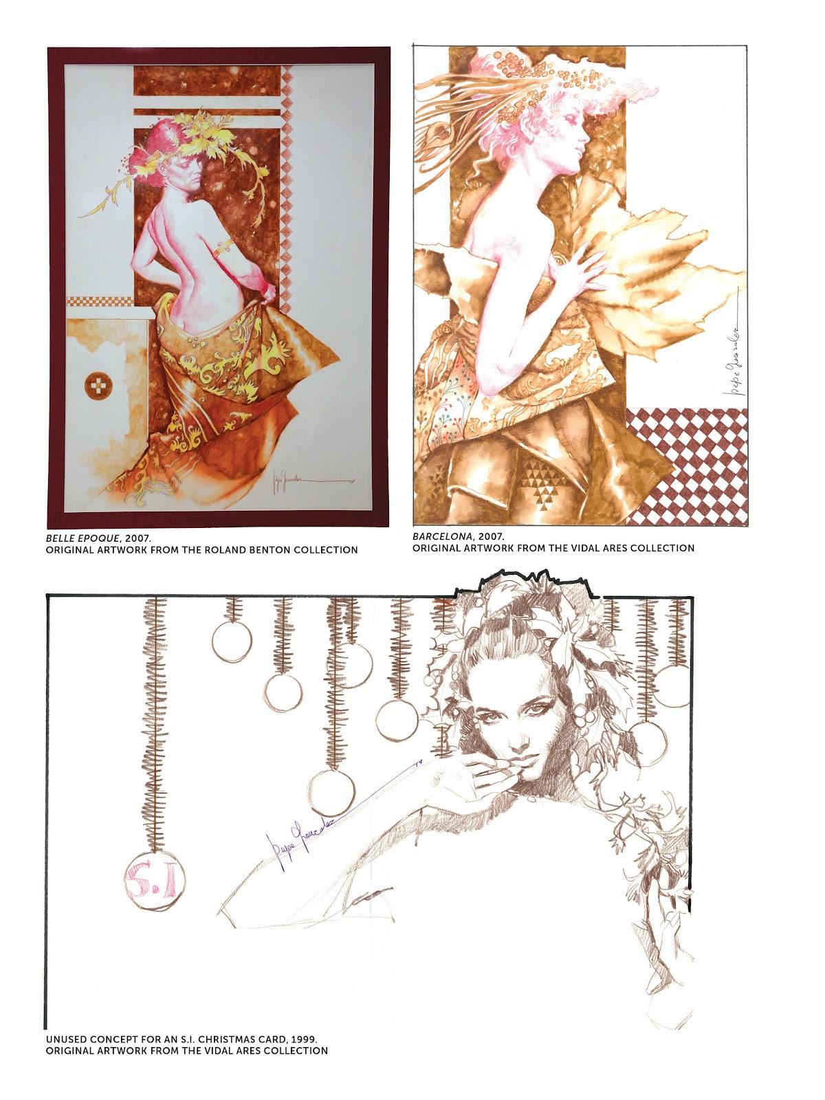 Read online The Art of Jose Gonzalez comic -  Issue # TPB (Part 3) - 41