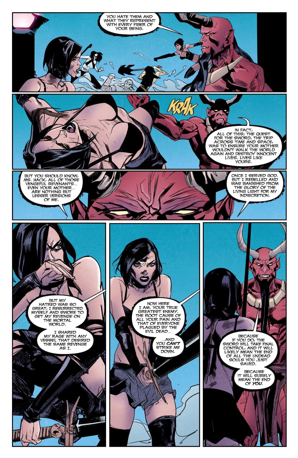 Read online Hack/Slash vs. Chaos comic -  Issue #5 - 14