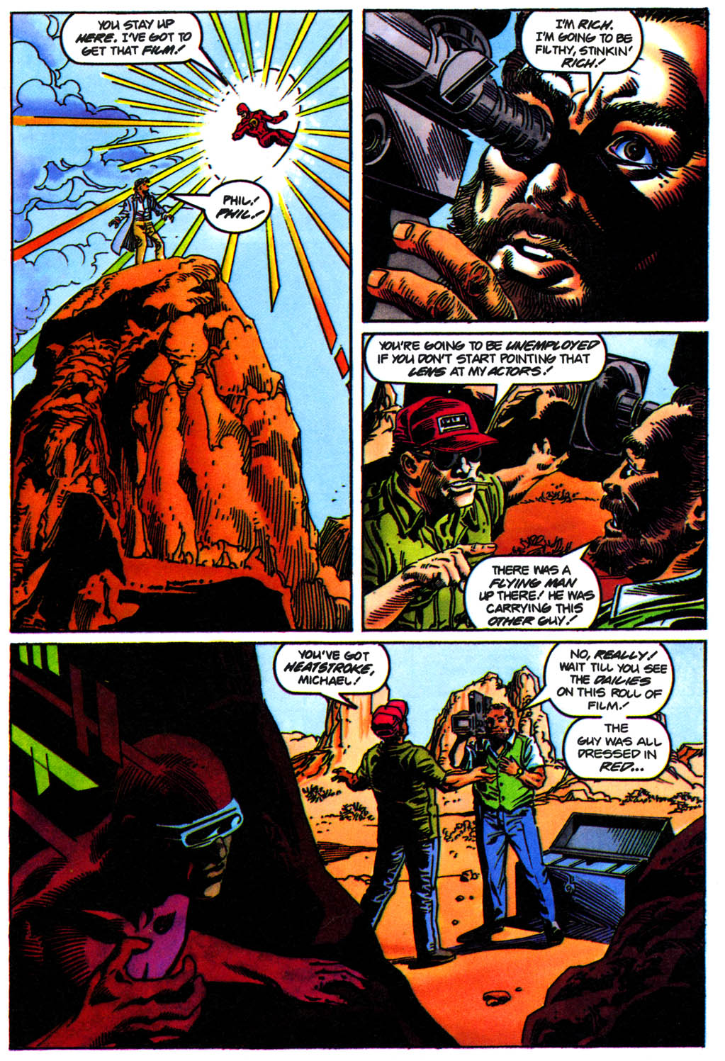 Read online Solar, Man of the Atom comic -  Issue #41 - 4