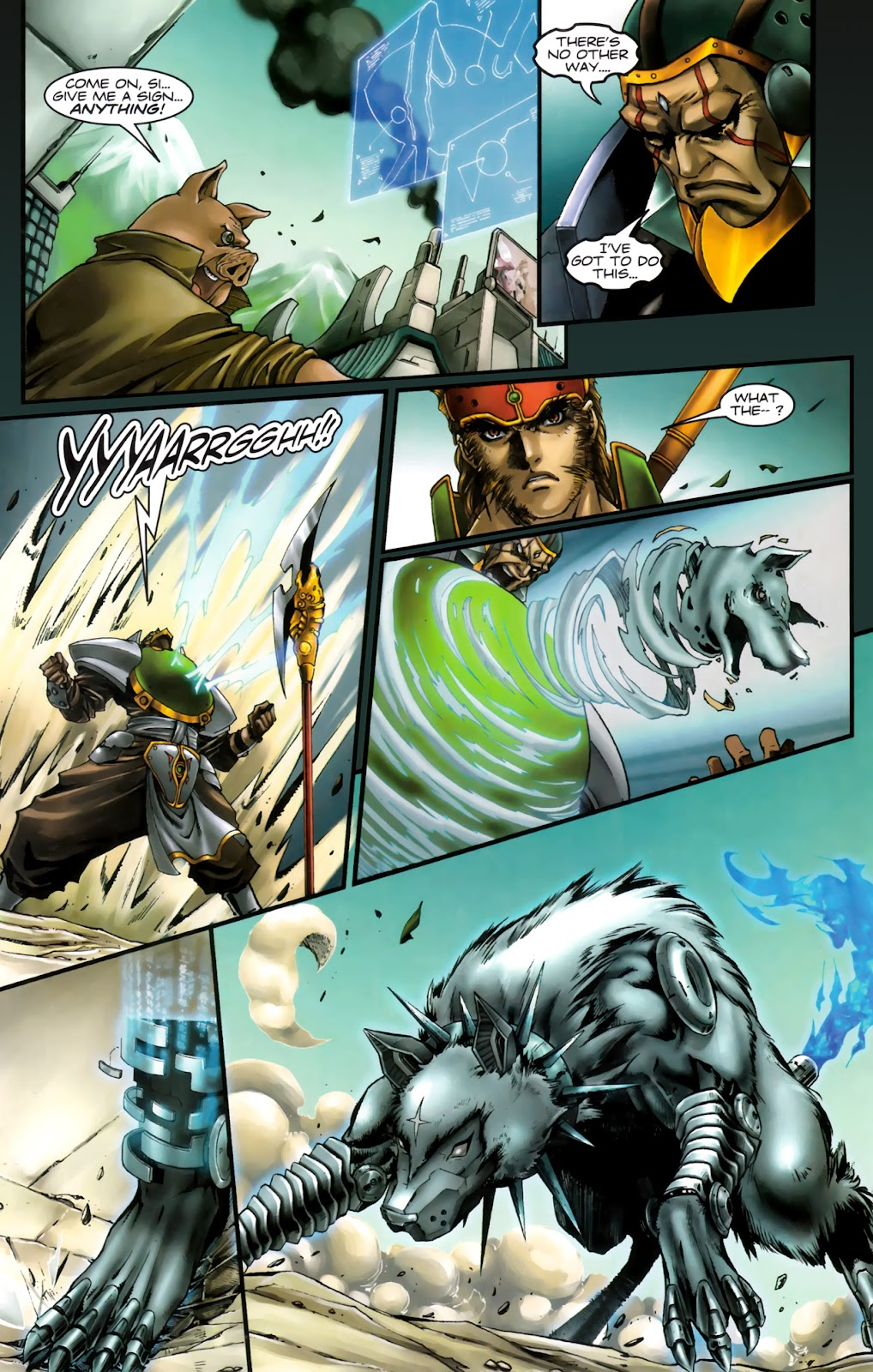 Read online Xin: Journey of the Monkey King comic -  Issue #3 - 13