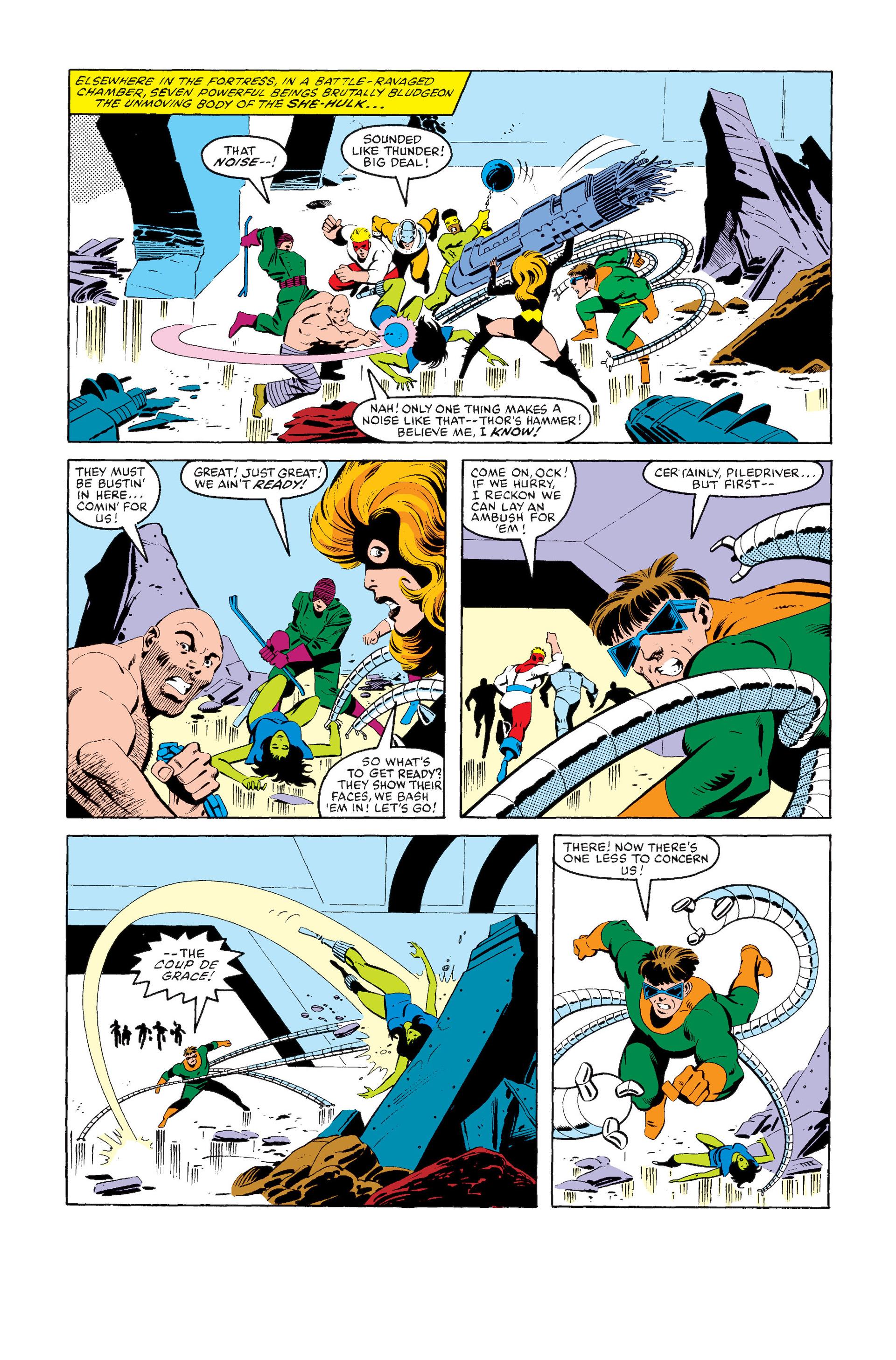 Read online Secret Wars (1985) comic -  Issue #8 - 5