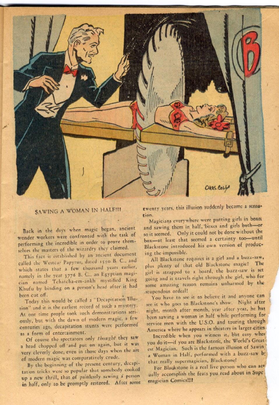 Read online Super-Magician Comics comic -  Issue #43 - 17