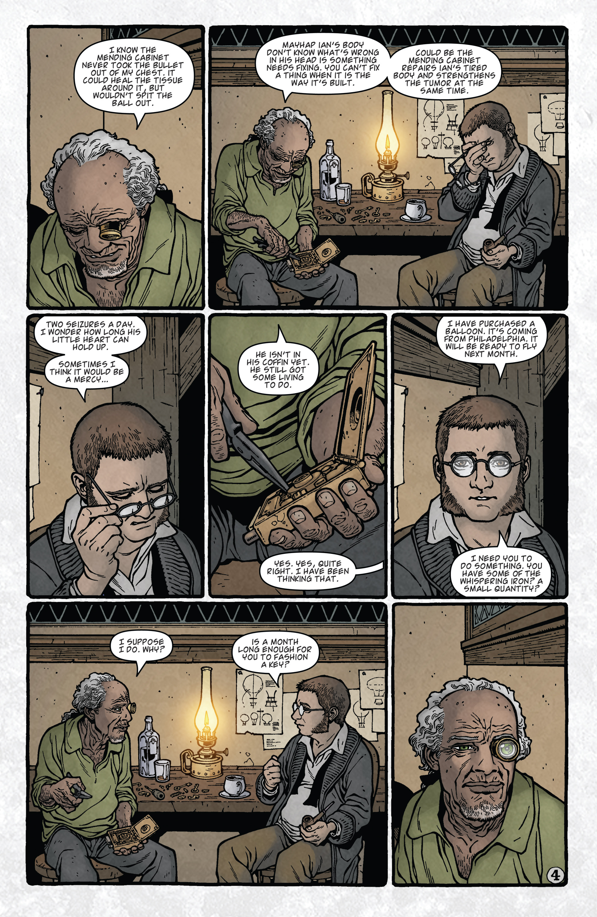 Read online Locke & Key: Guide to the Known Keys comic -  Issue # Full - 6