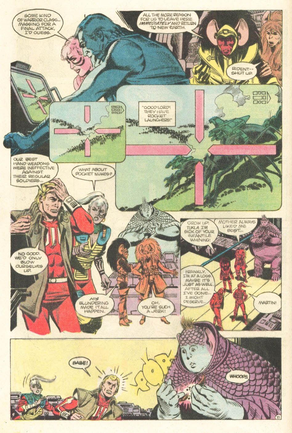 Read online Atari Force (1984) comic -  Issue #15 - 13